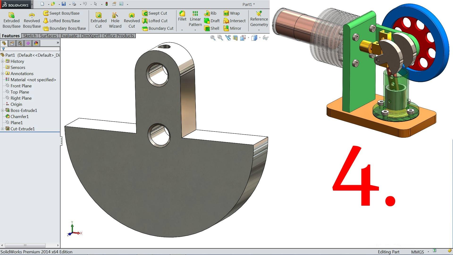 Stirling Engine Diagram solidworks Tutorial Stirling Engine Of Stirling Engine Diagram