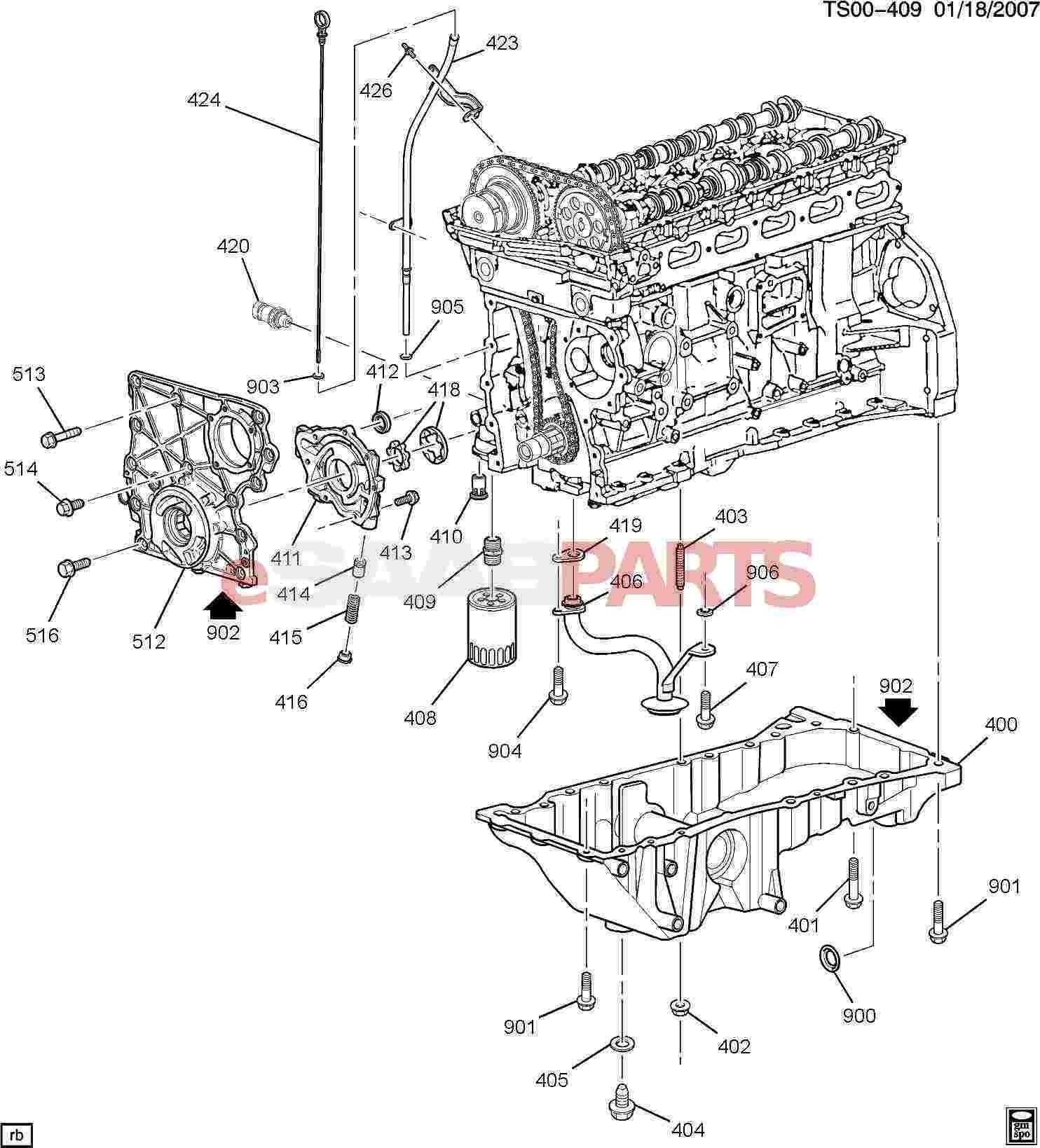 Straight 6 Engine Diagram Esaabparts Saab 9 7x Engine Parts Engine Internal 4 2s Of Straight 6 Engine Diagram