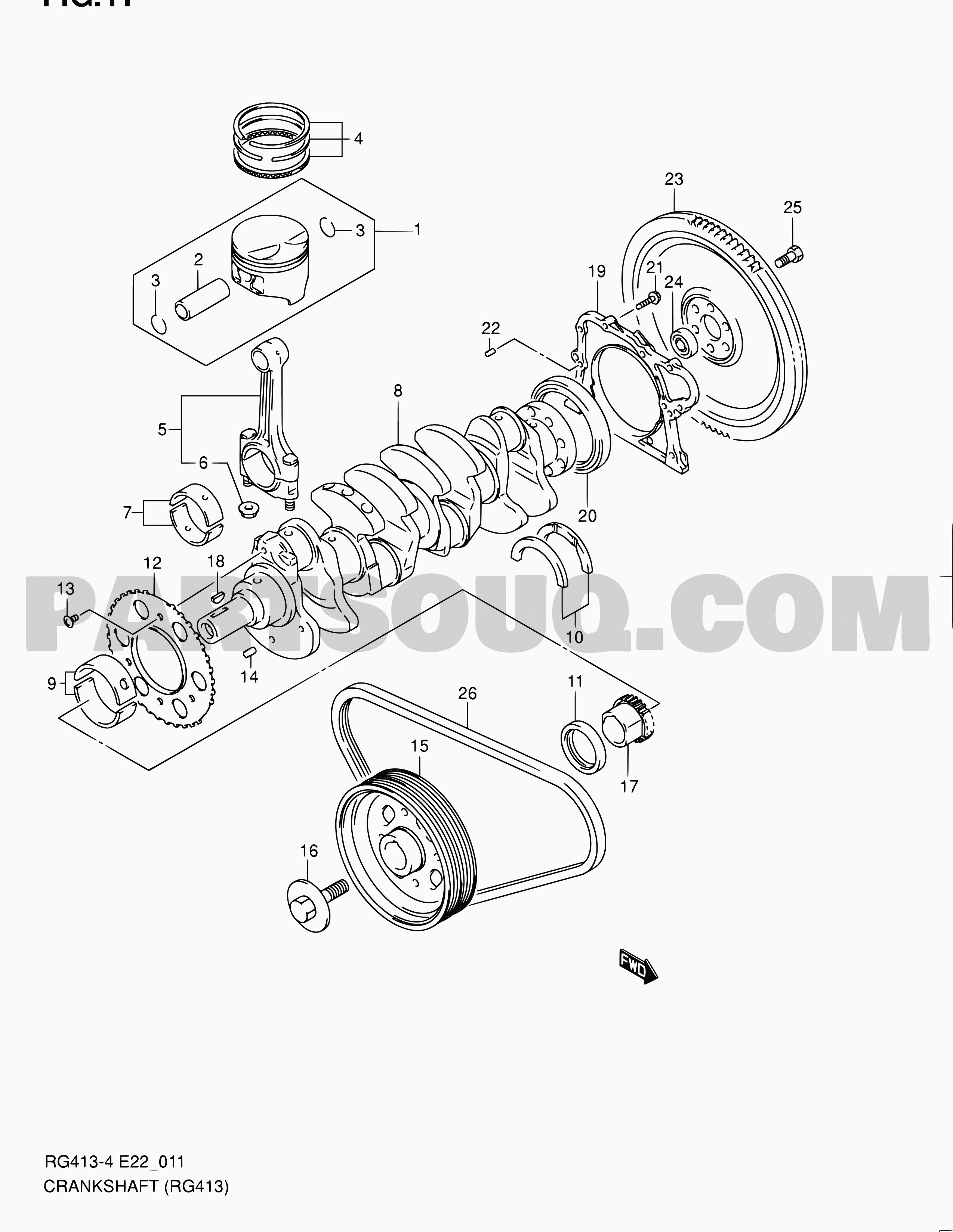 suzuki m13a engine diagram jimny z2t m13a jsafjb43v suzuki