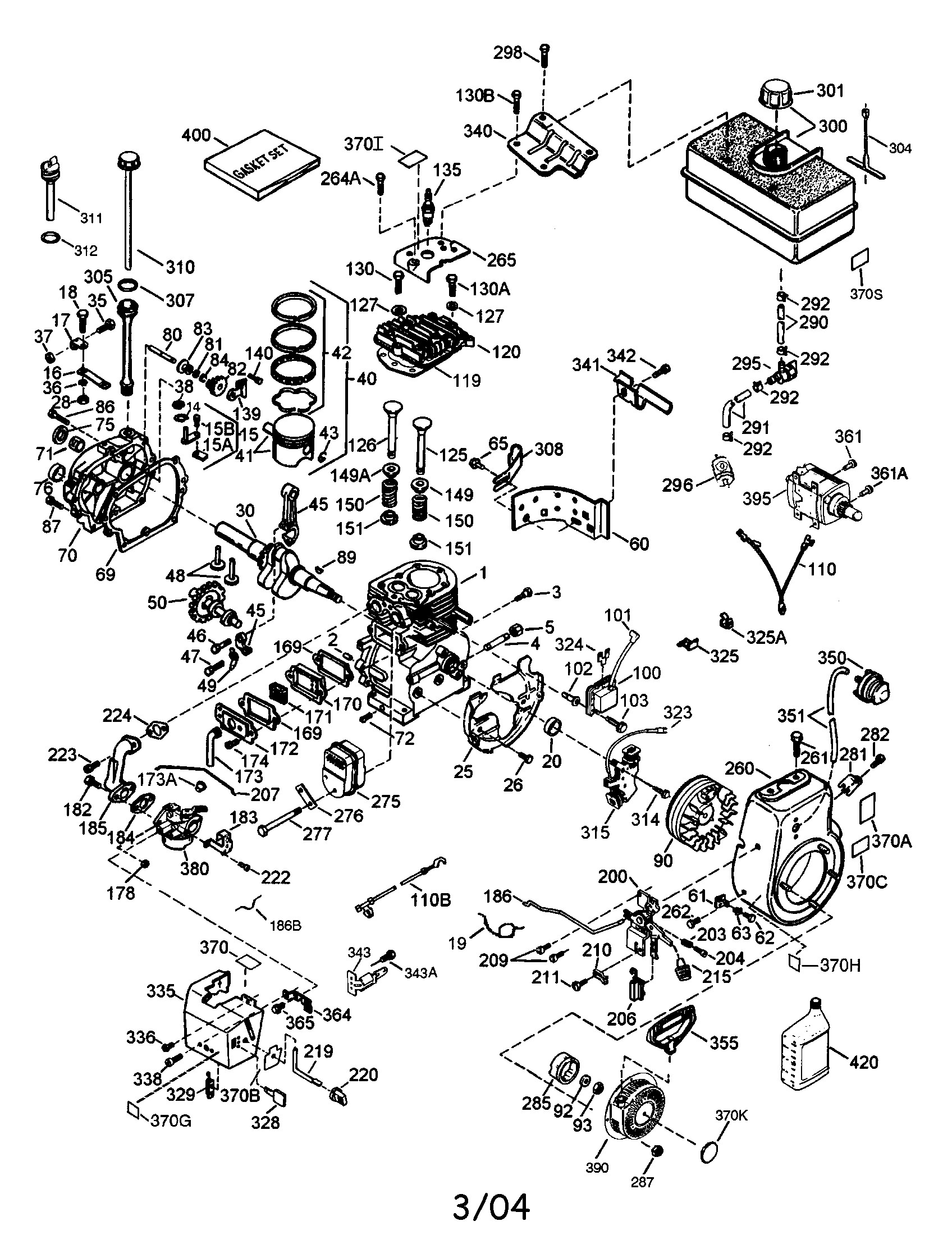 tecumseh engine carburetor diagram
