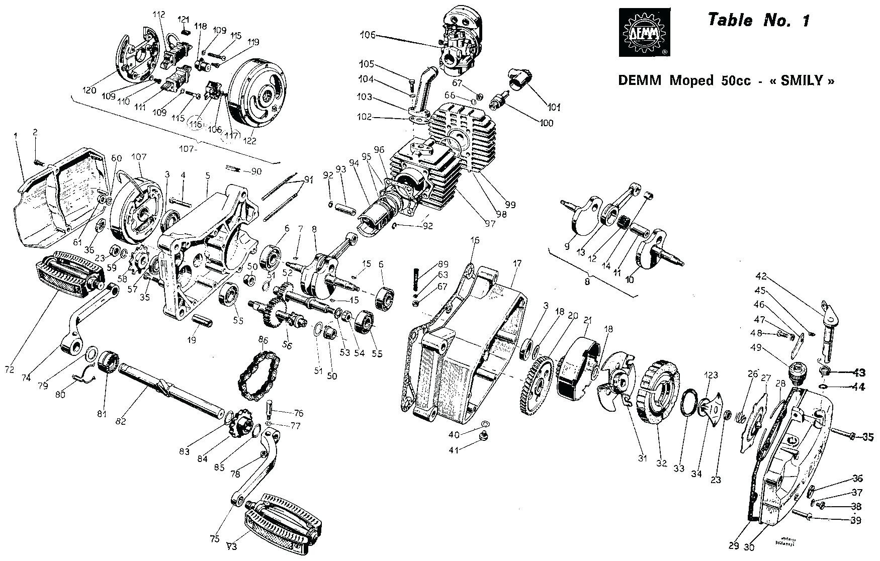 Tomos A55 Engine Diagram Moped Engine Diagram tomos Exercise assembly Wiring Exhaust Pipe Of Tomos A55 Engine Diagram