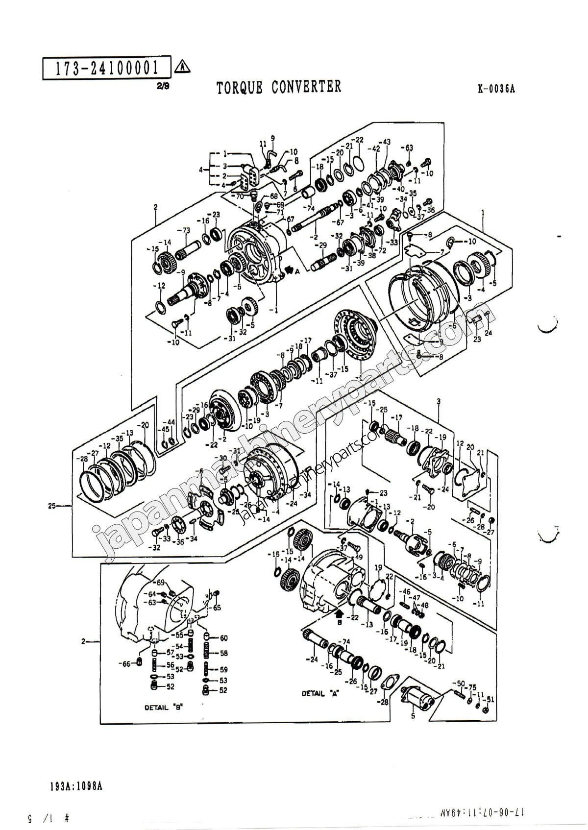 Torque Converter Diagram Parts for Kato Kr 25h V Of Torque Converter Diagram