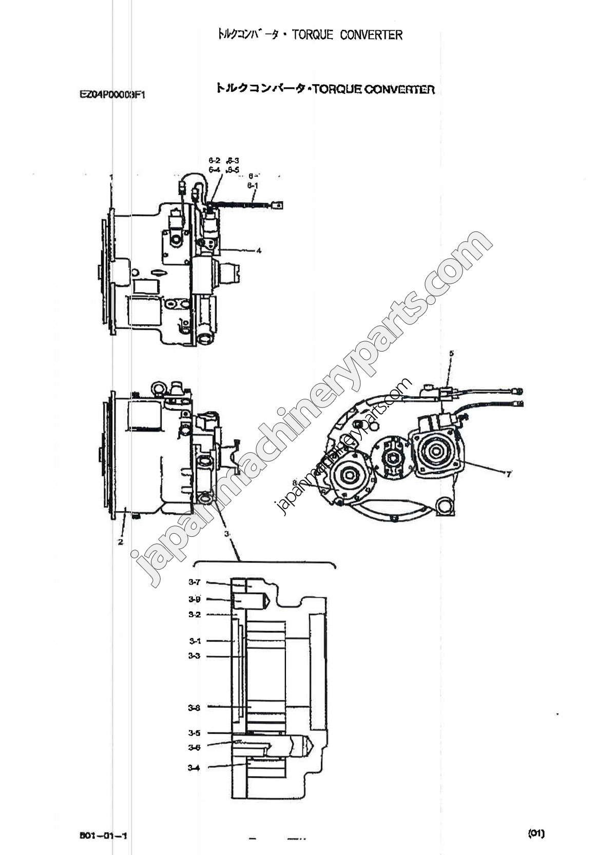 Torque Converter Diagram Parts for Kobelco Rk250 5 Of Torque Converter Diagram