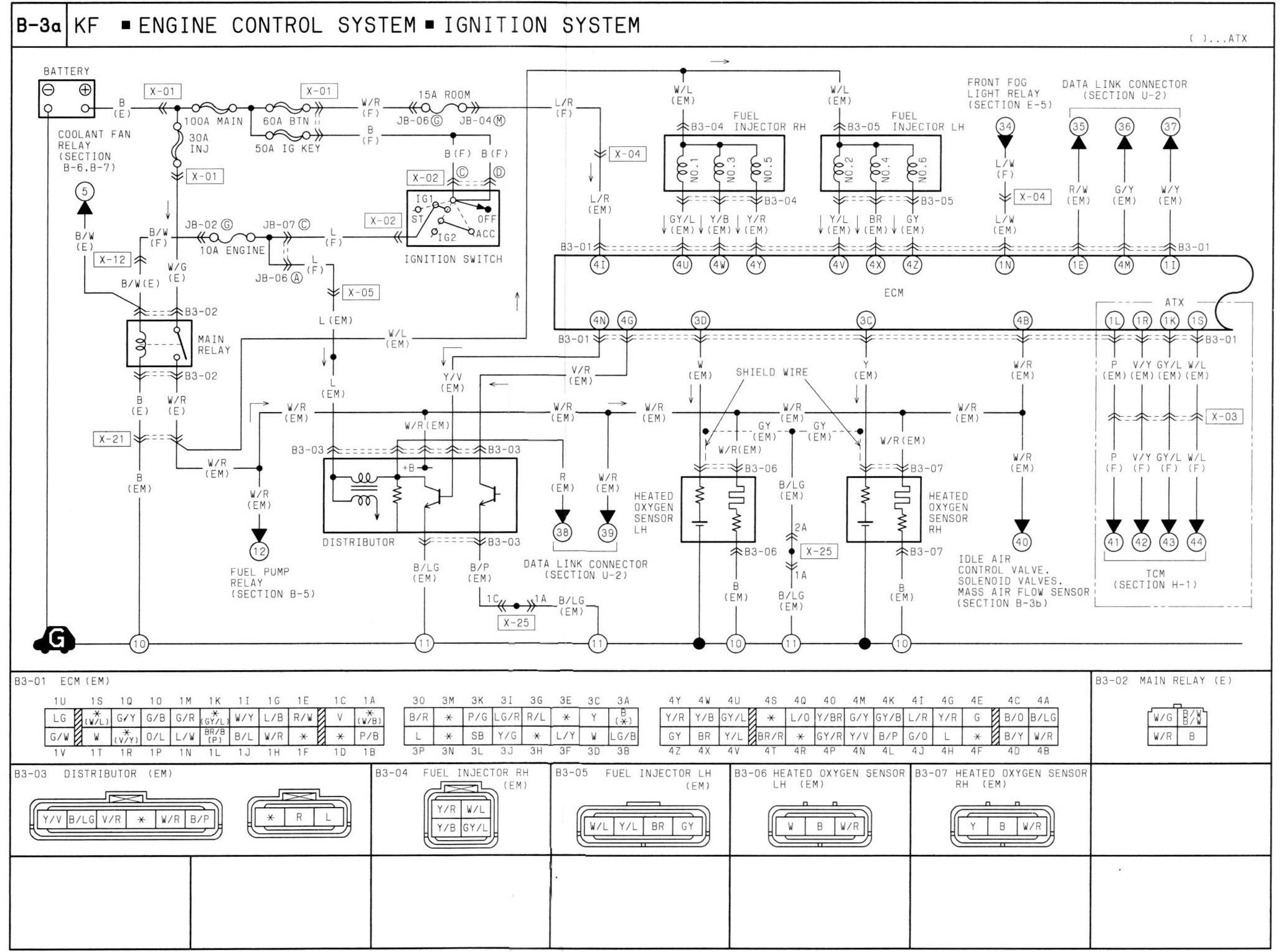 Mazda Wiring Diagram 323 Schematics Diagrams Omc 583653 Bj Relay Enthusiast U2022 Rh Bwpartnersautos Com Ignition