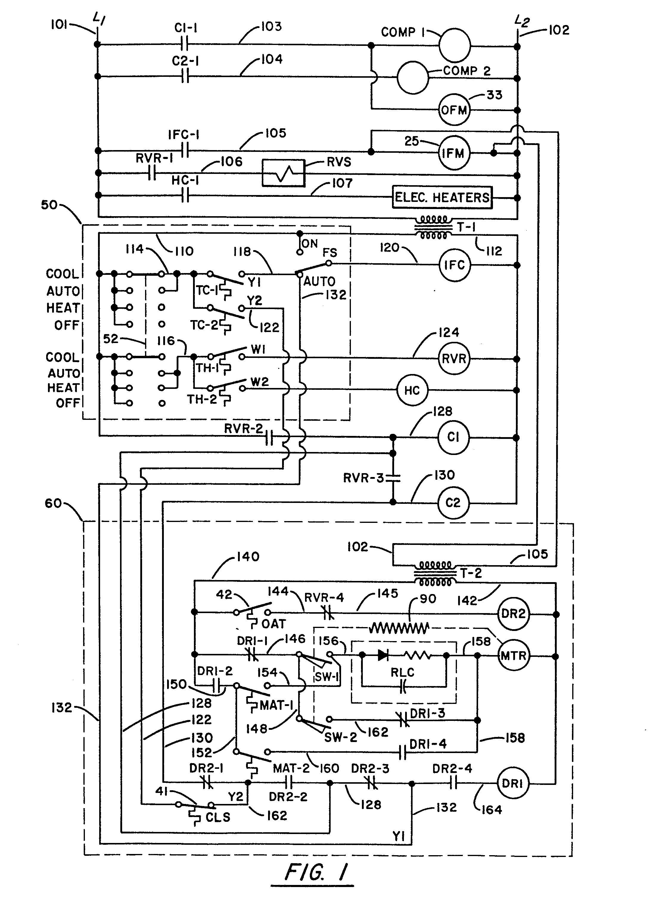 trane air conditioner wiring diagram