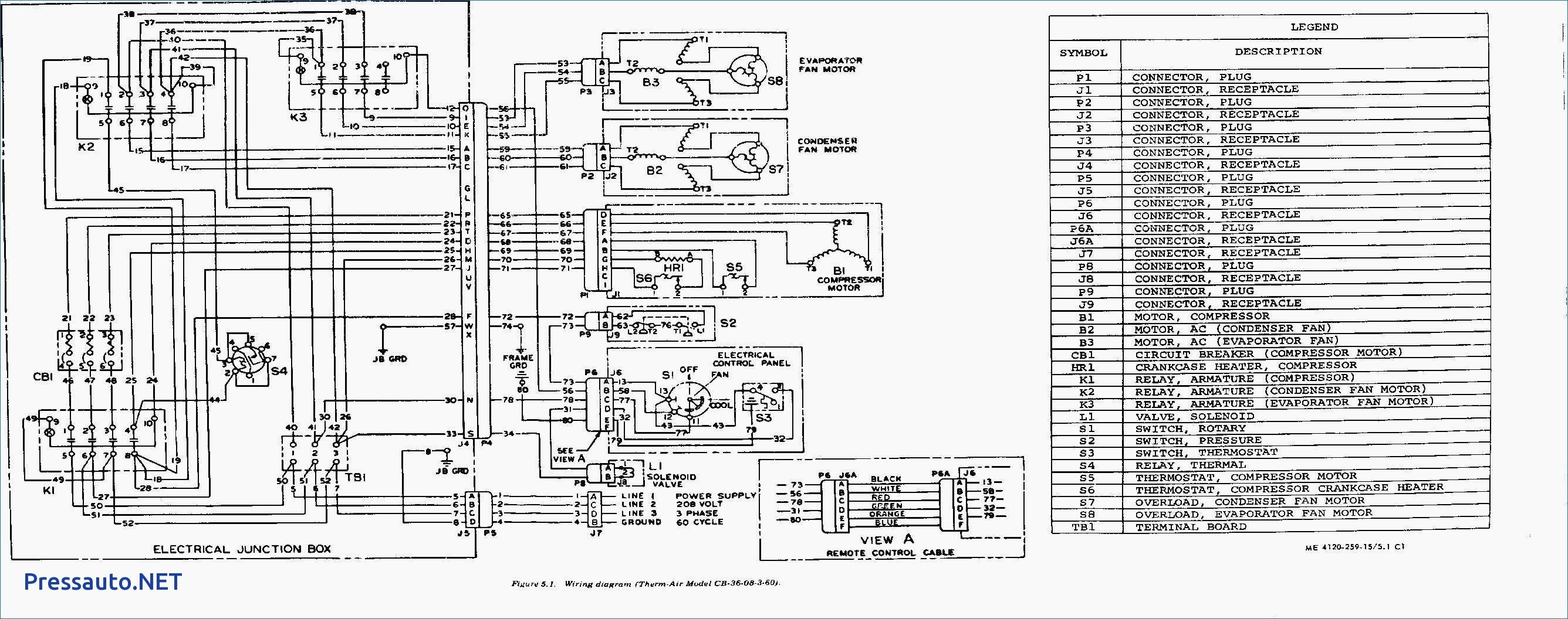 Trane Air Conditioner Wiring Diagram Inspirational Trane Wiring Diagrams Diagram