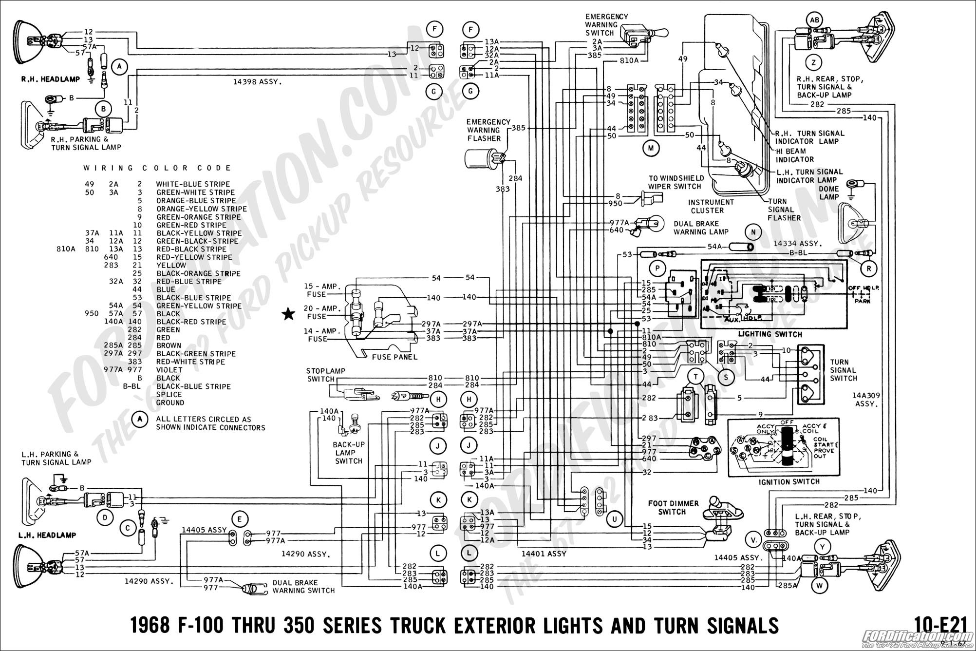 Turn Signal Switch Diagram ford Truck Technical Drawings and Schematics Section H Wiring Of Turn Signal Switch Diagram