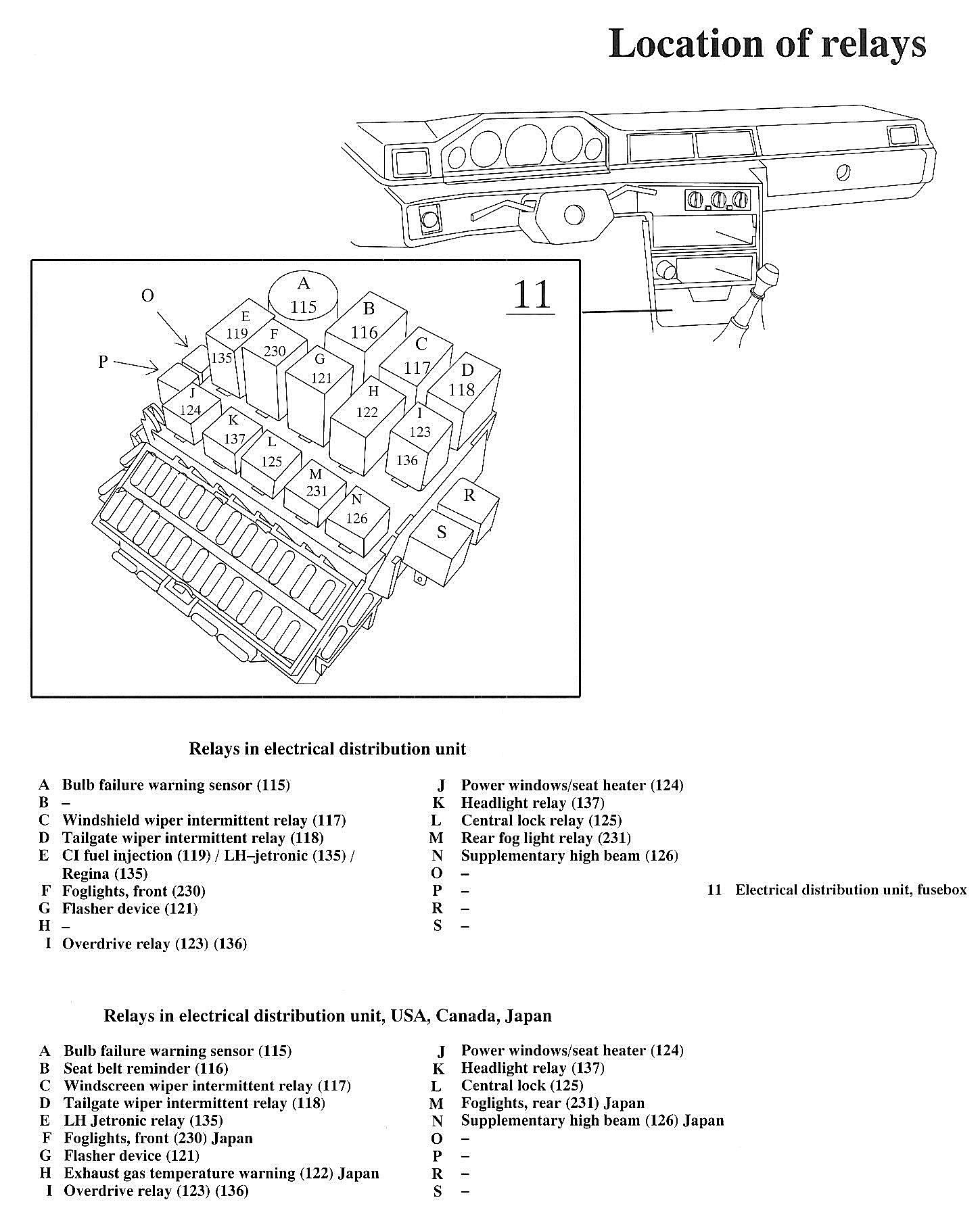 Volvo 740 Fuse Box Diagram Product Wiring Diagrams \u2022 1997 Volvo 850 Fuse  Box Diagram 1992 Volvo 240 Fuse Box Diagram