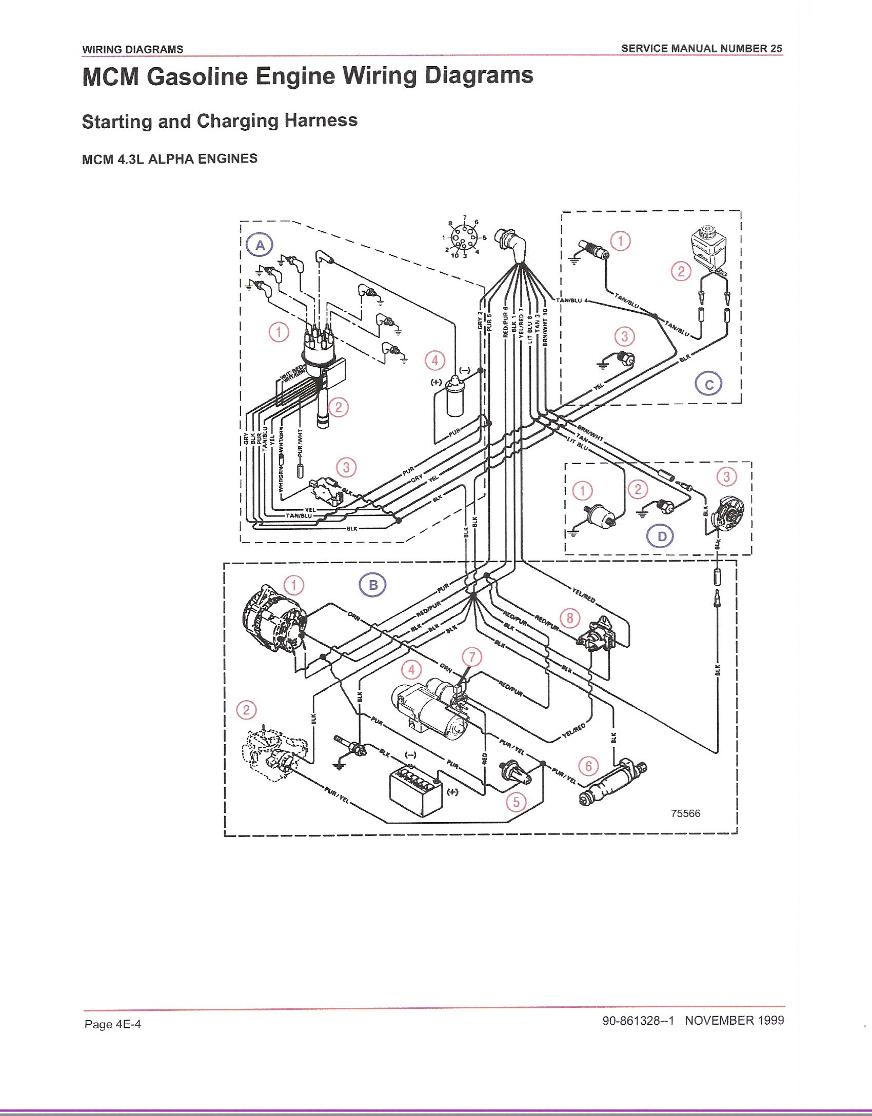 Volvo Penta 4 3 Engine Diagram Mercruiser 4 3 I O Loss Of Power when Throttling Up In Either Of Volvo Penta 4 3 Engine Diagram