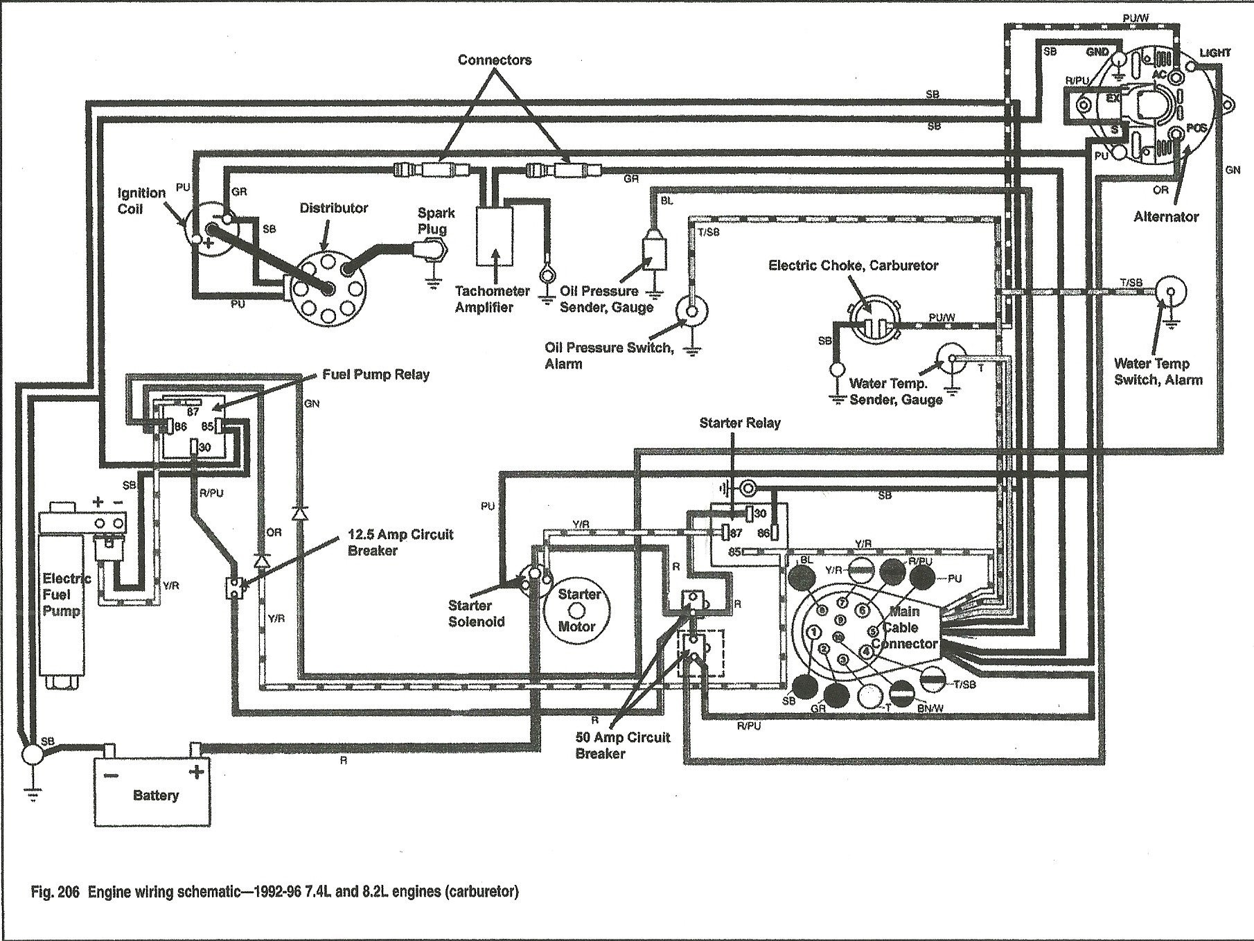 Volvo Penta 270 Trim Wiring Diagram Library 325ci Engine 4 3 A Lot Of Play In Steering Yoke My