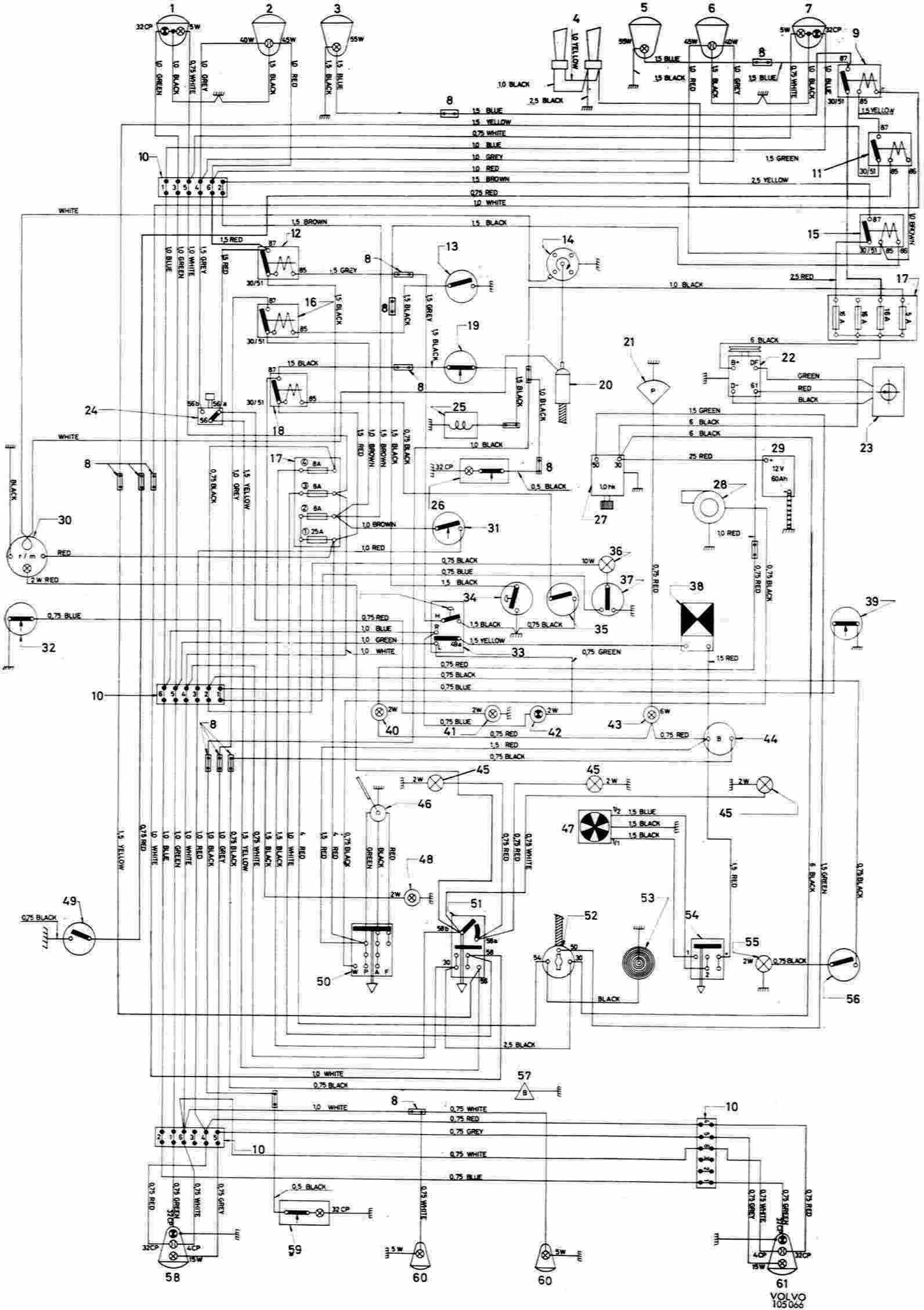 1986 Volvo 740 Wiring Diagram Wiring Diagram