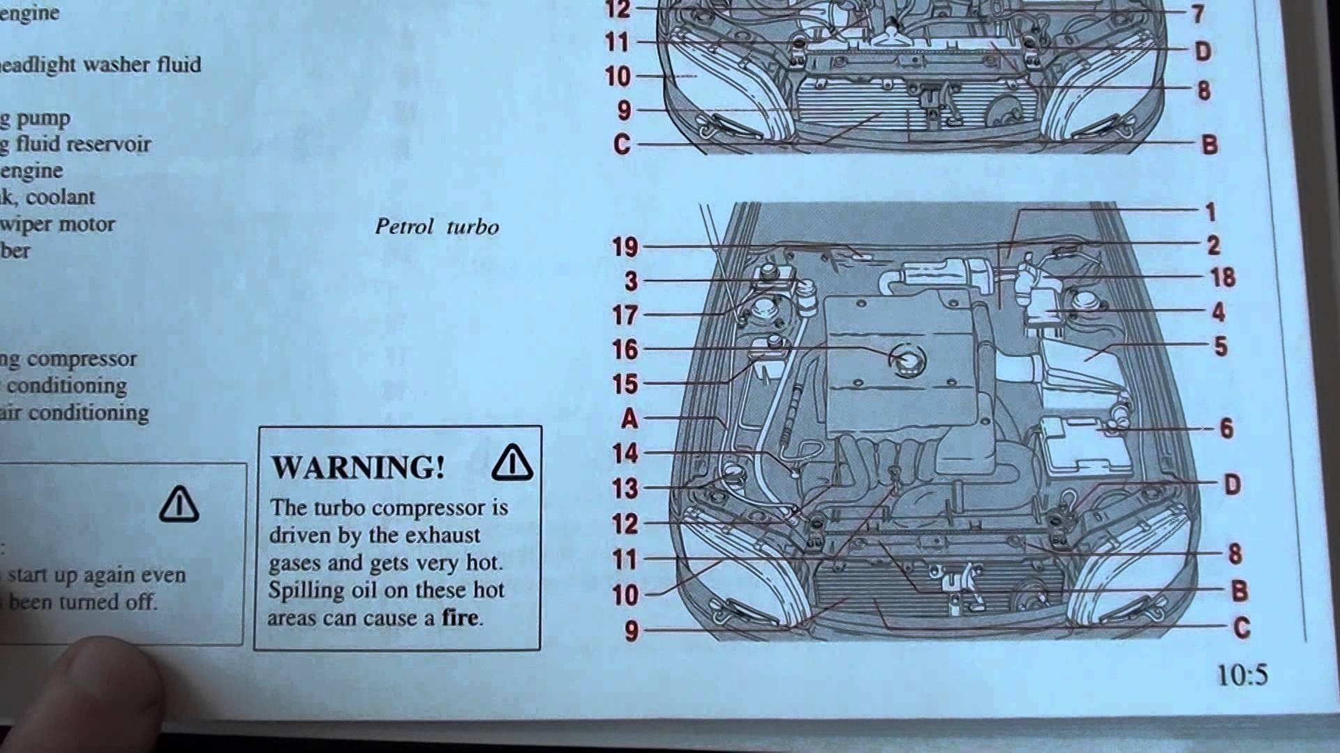 1998 Volvo S70 Engine Diagram