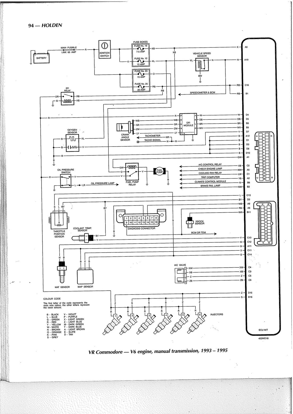 Vt Commodore Engine Diagram My Wiring Diagram