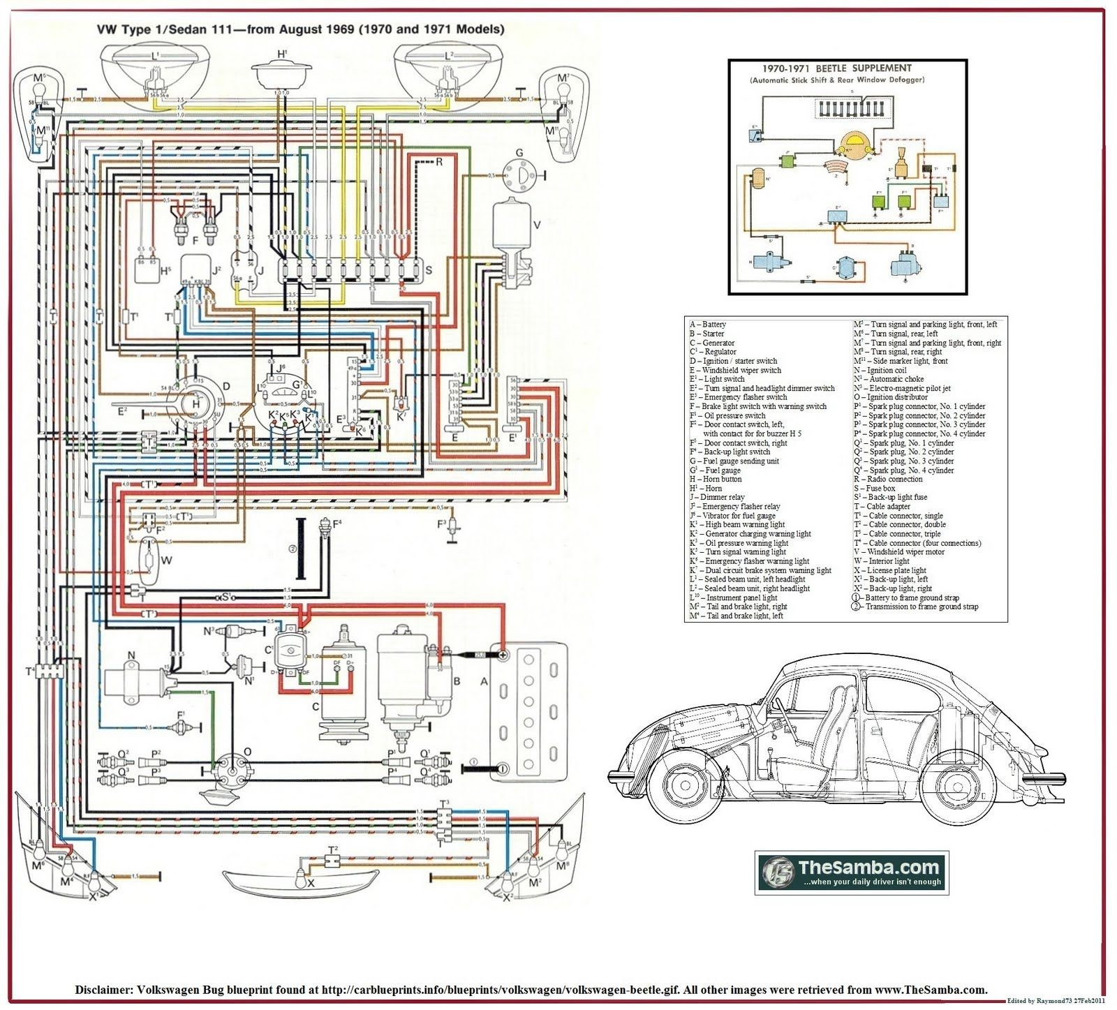 Vw Engine Diagram Vw Beetle Wiring Ch A Simple Car Bugs Pinterest Of Vw  Engine Diagram