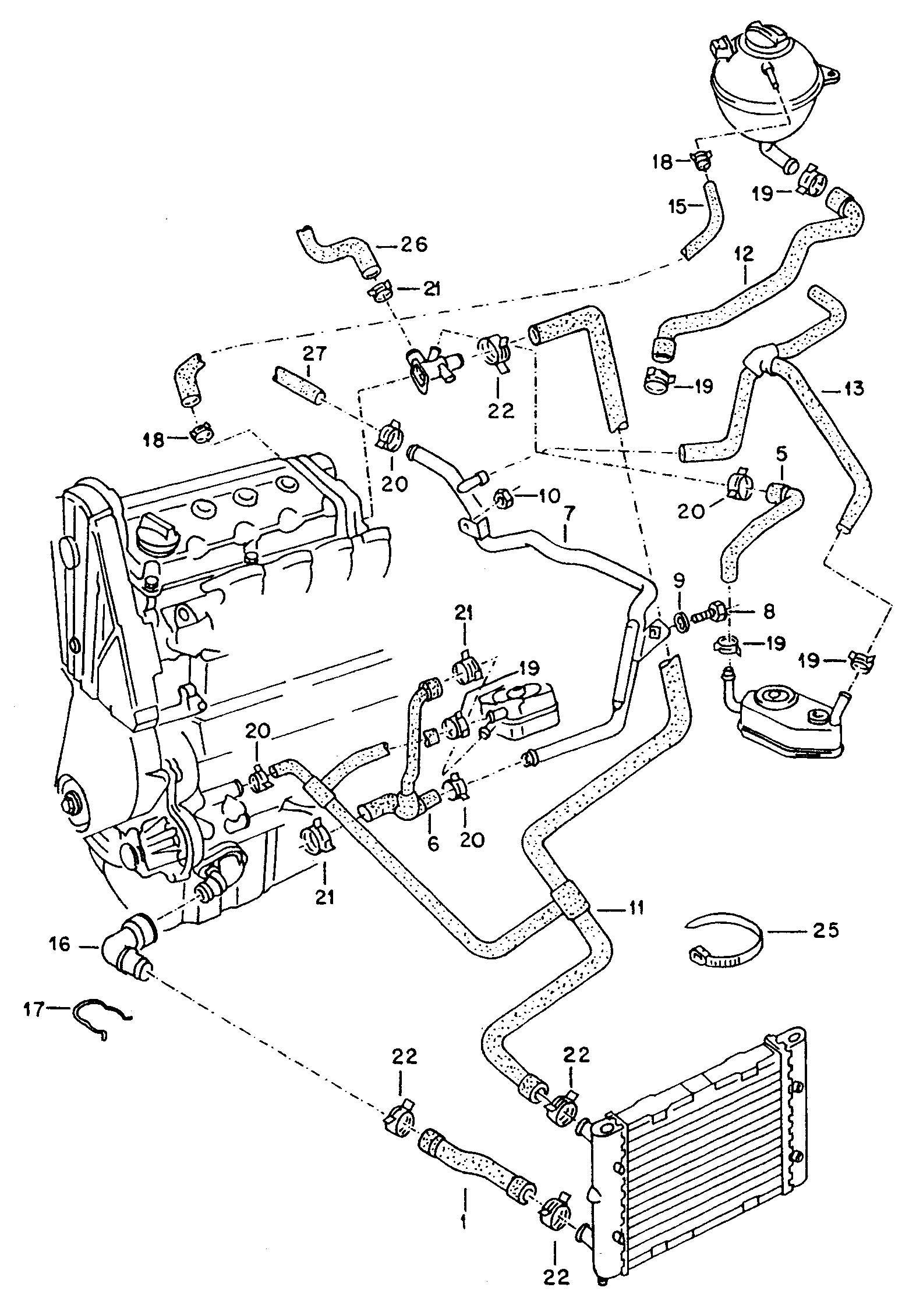 Passat Engine Parts Diagram