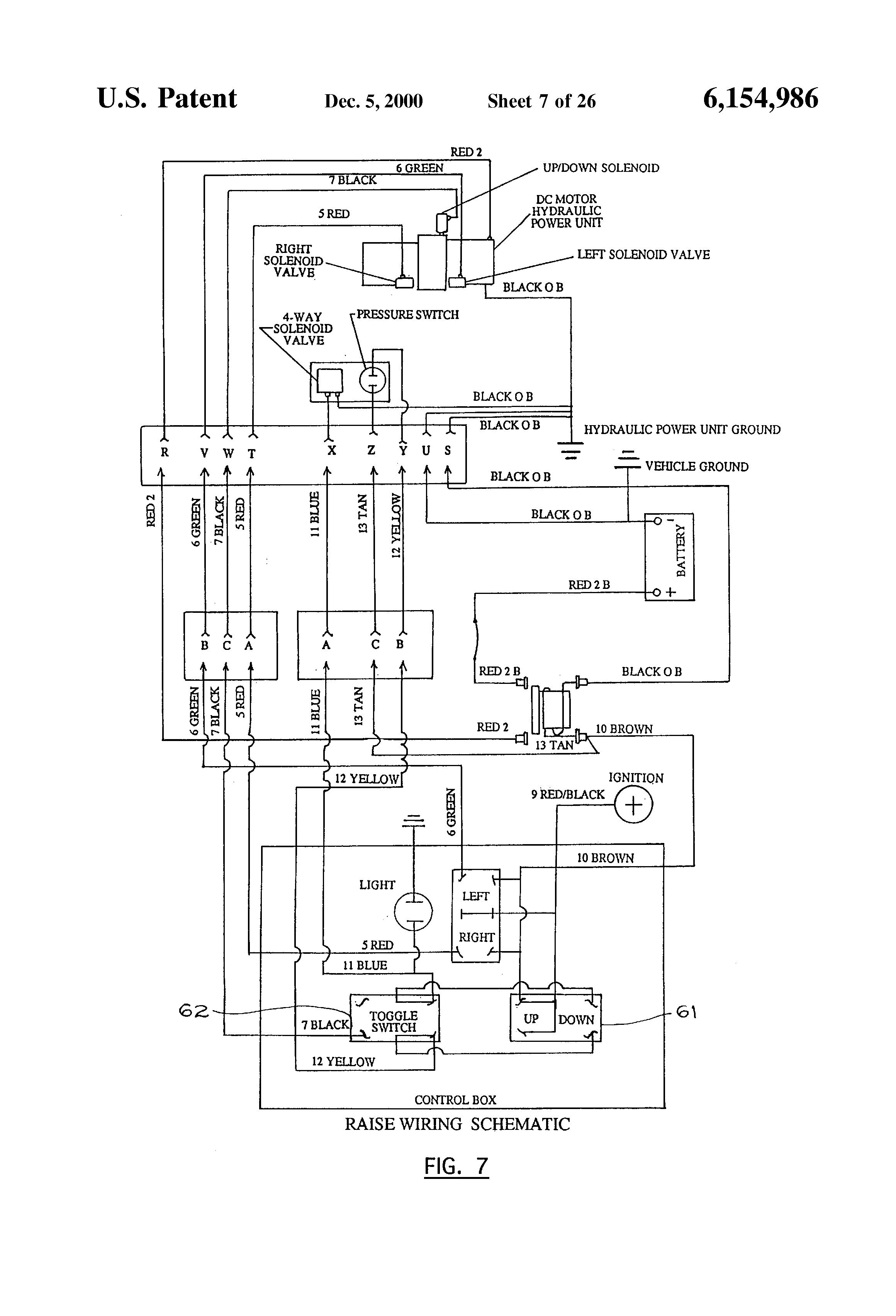sno way plow control wiring diagram