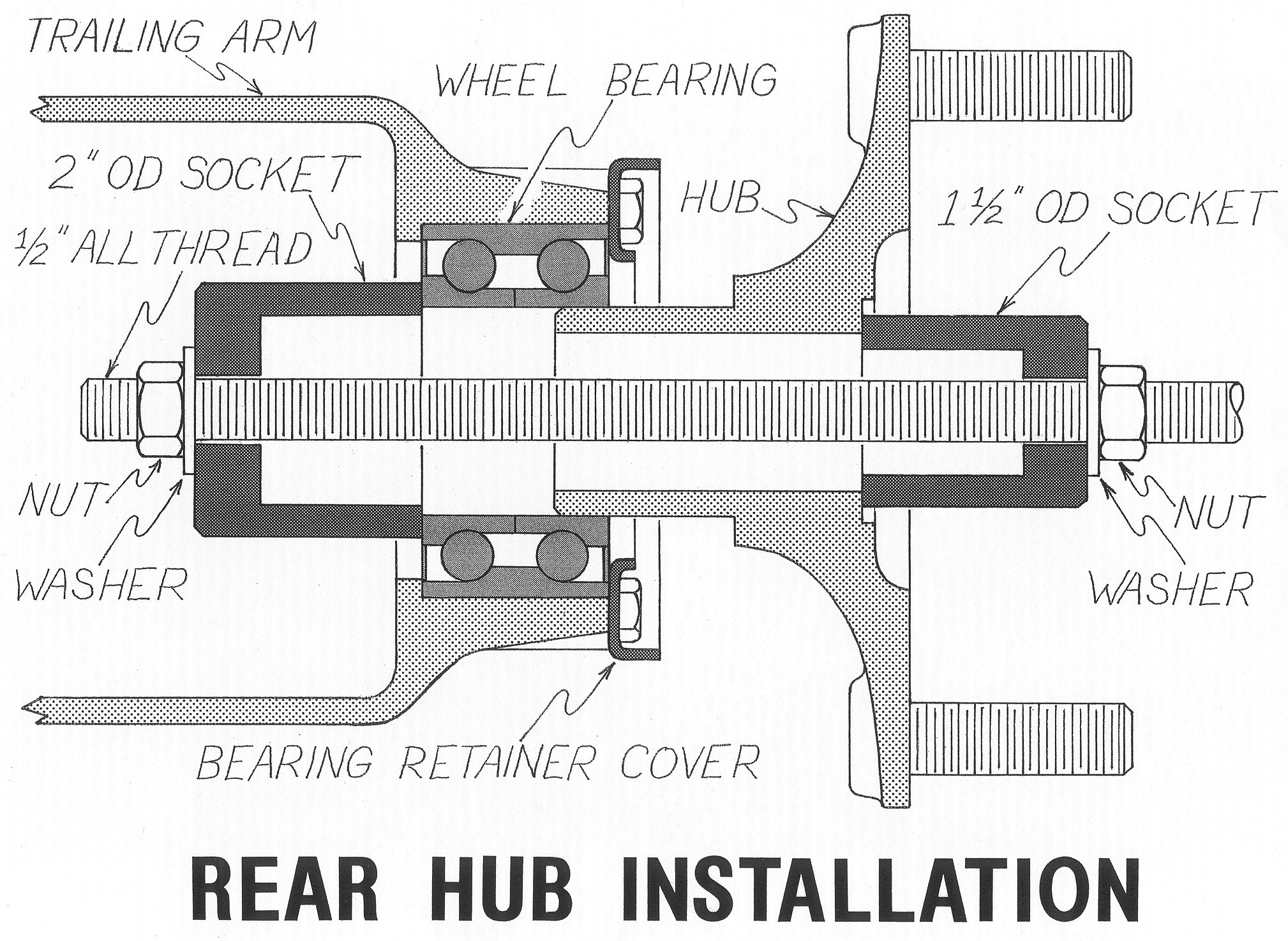 Wheel Bearing assembly Diagram Pelican Technical Article 914 Five Bolt Pattern Conversion Of Wheel Bearing assembly Diagram