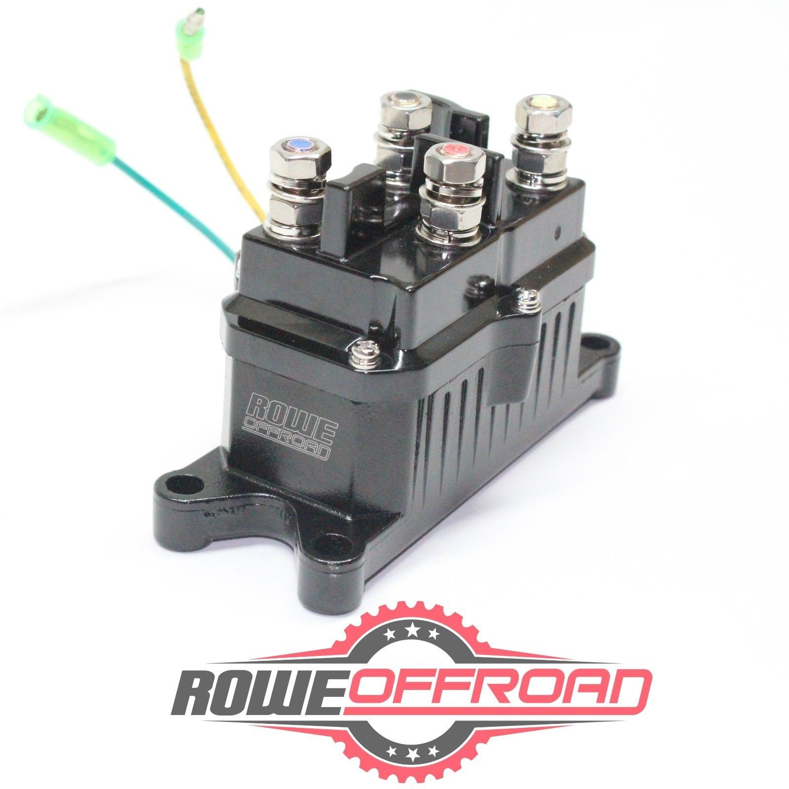 Winch Contactor Wiring Diagram atv Utv Winch 12v solenoid Relay Contactor Switch Warn Wiring Of Winch Contactor Wiring Diagram