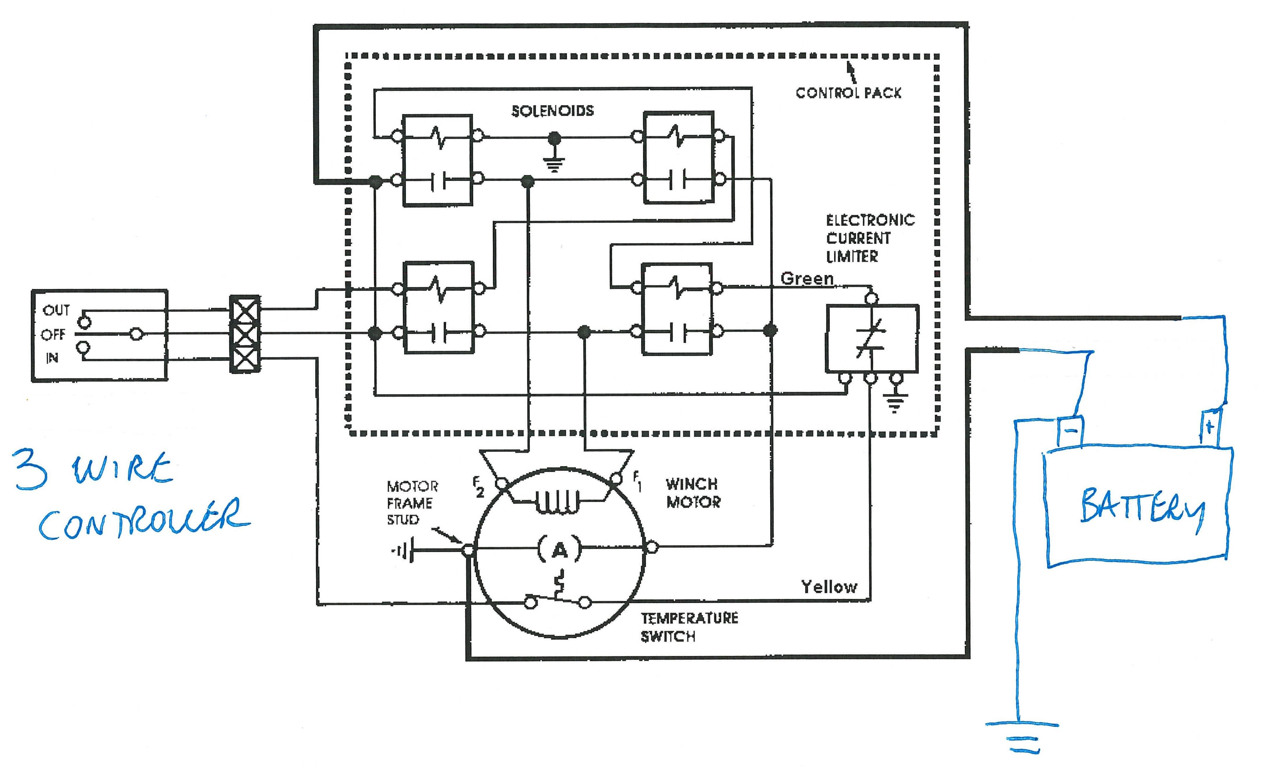 winch contactor wiring diagram luxury solenoid wiring