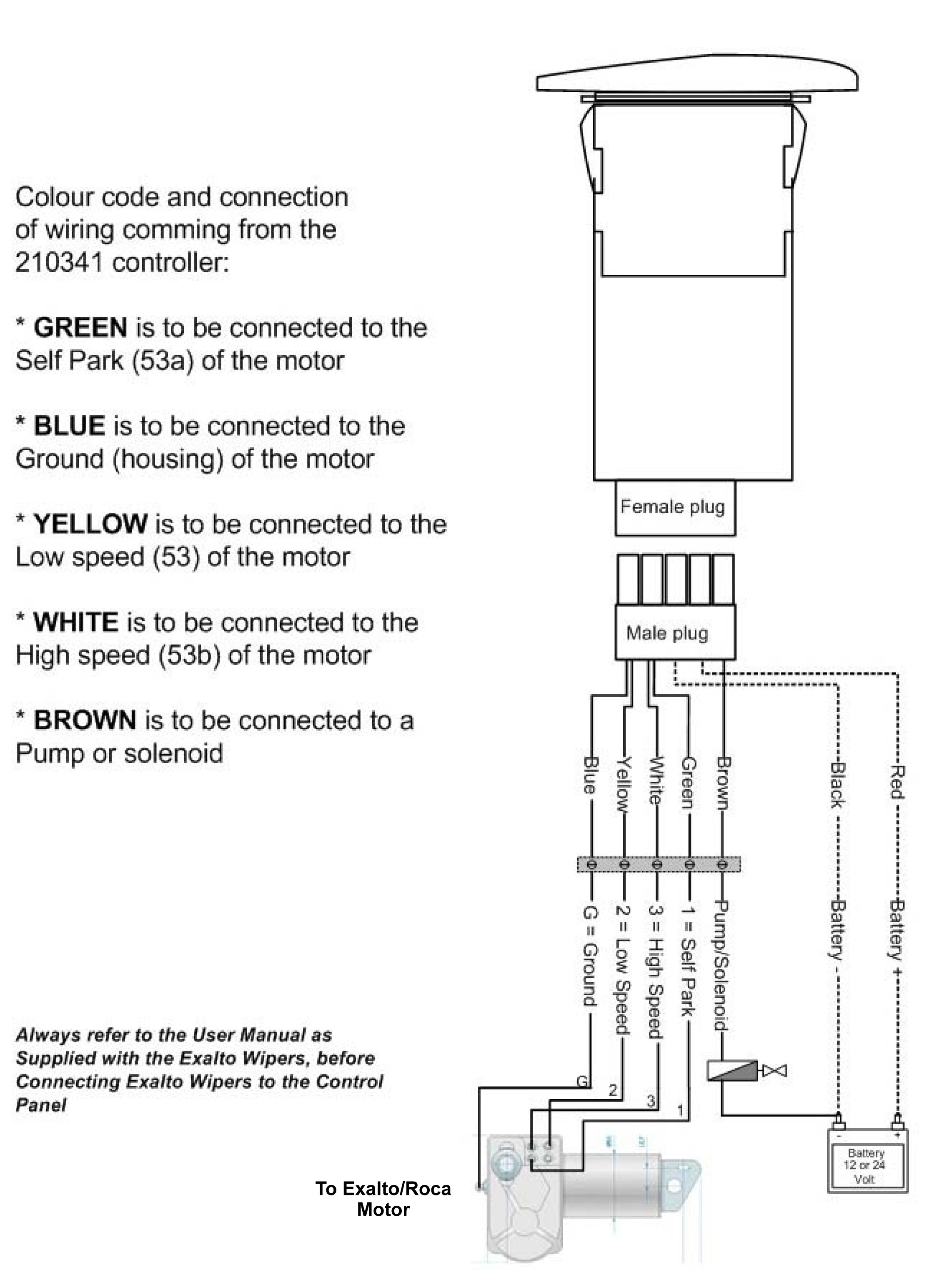 Wiper Motor Diagram Wiper Controls Detail Ct41 Pact Full Function Electronic Wiper Of Wiper Motor Diagram