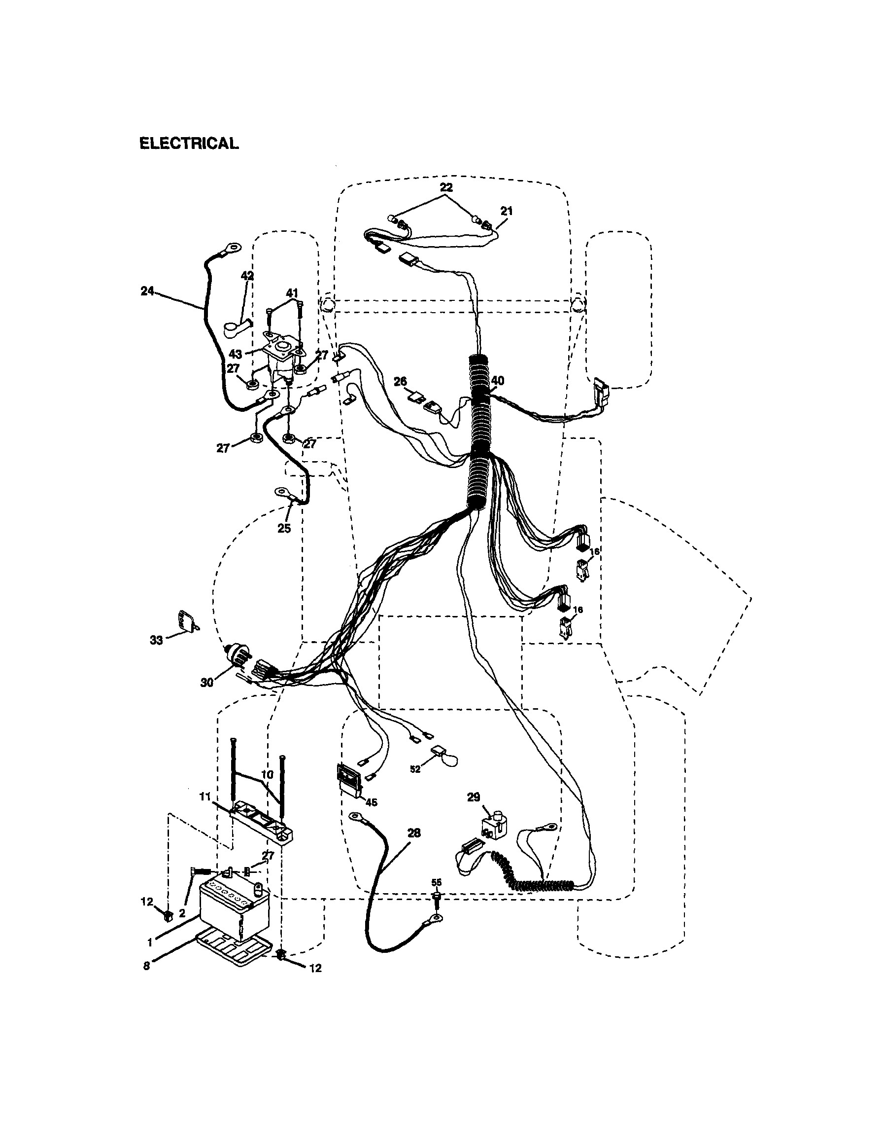 wiring diagram for a craftsman riding mower funky