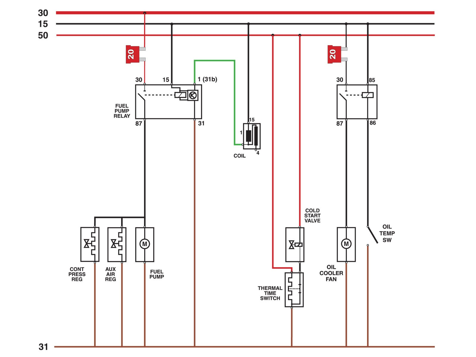 Wiring Diagram For An Electric Fuel Pump And Relay 98 Ls1 To 94 1996 Miata Selected Details Related Post