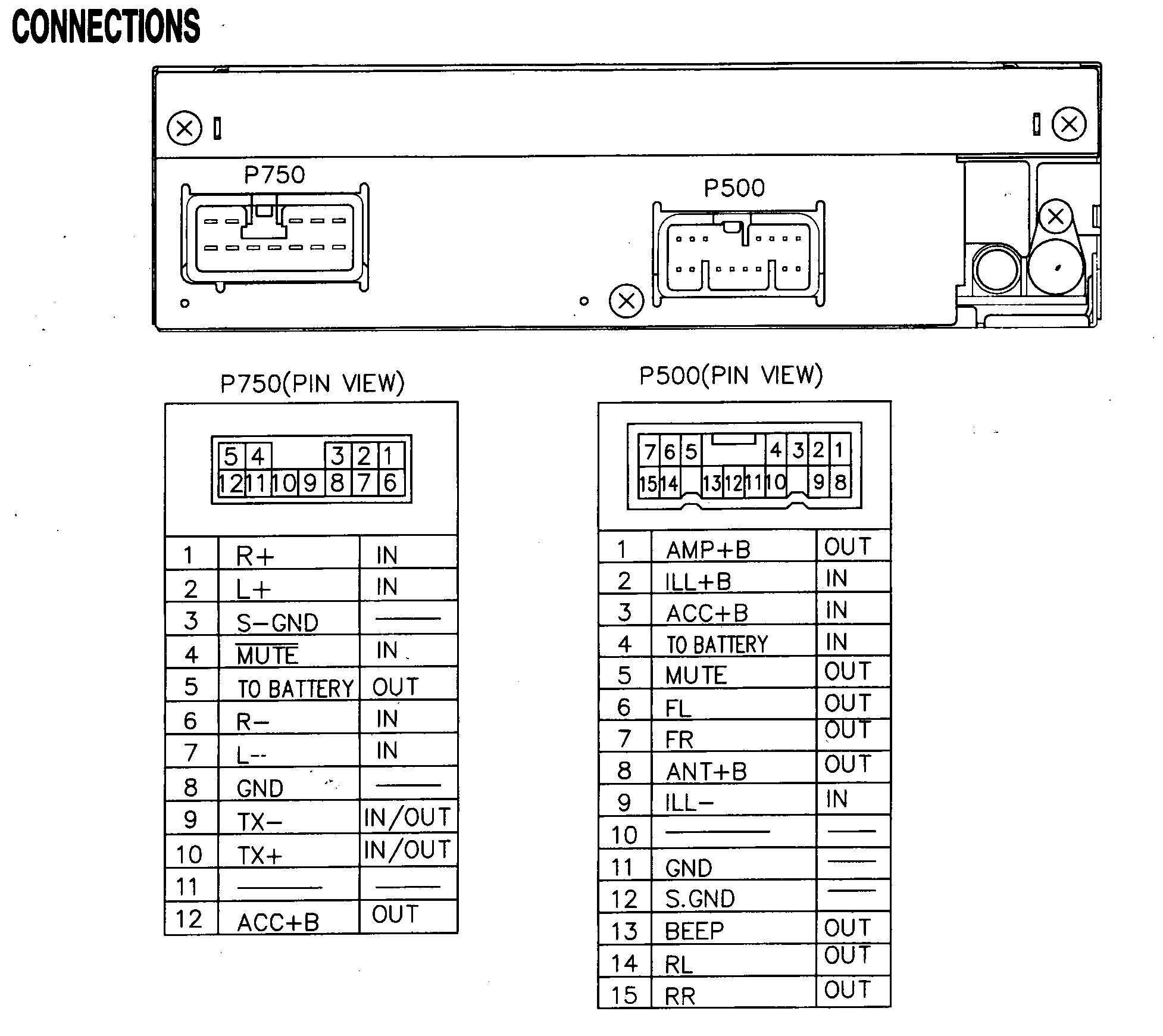Wiring Diagram for Car Audio Connector 2000 Connectors Wiring Diagram Get Free Image About Wiring Of Wiring Diagram for Car Audio