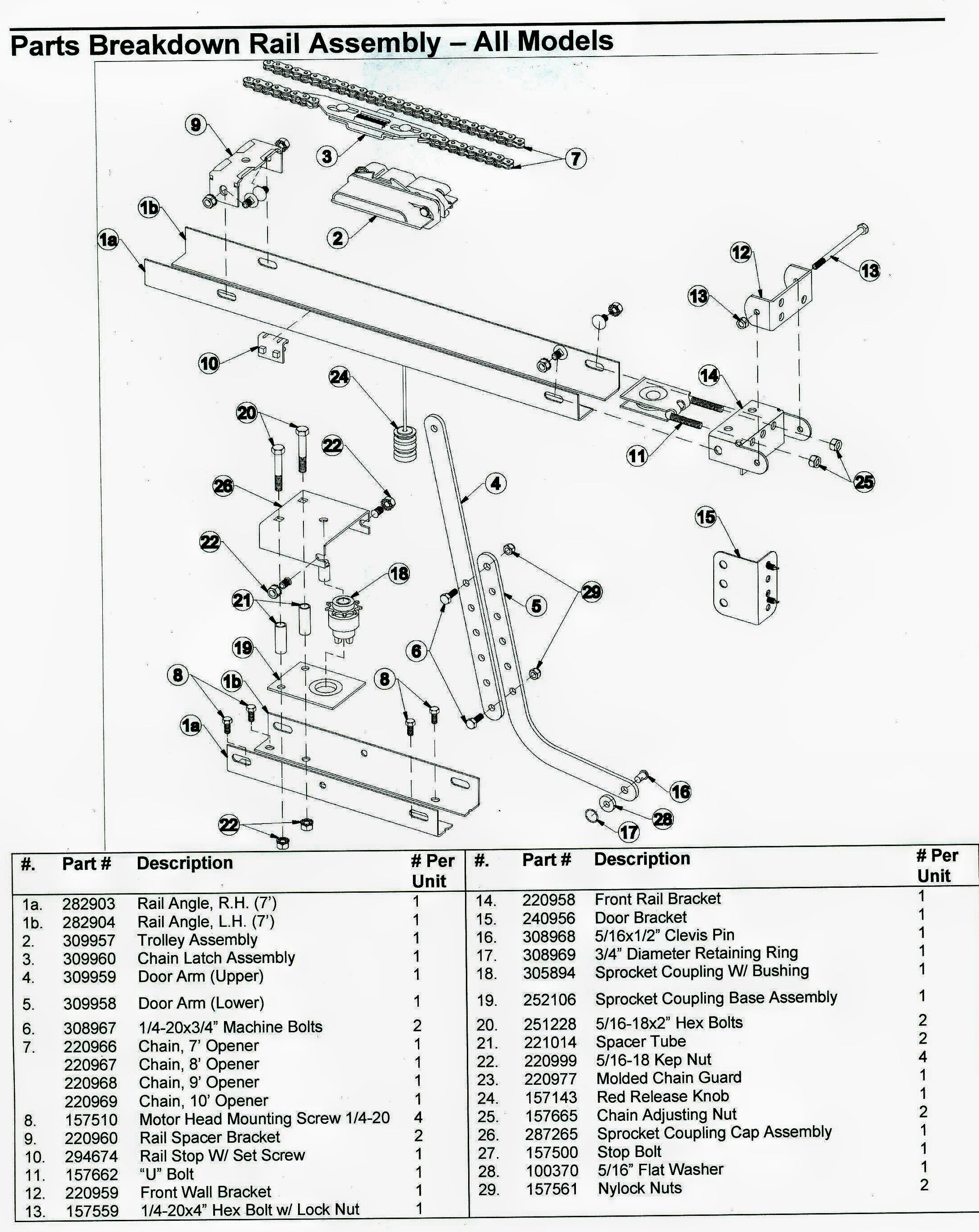 Wiring Diagram For Liftmaster Garage Door Opener My