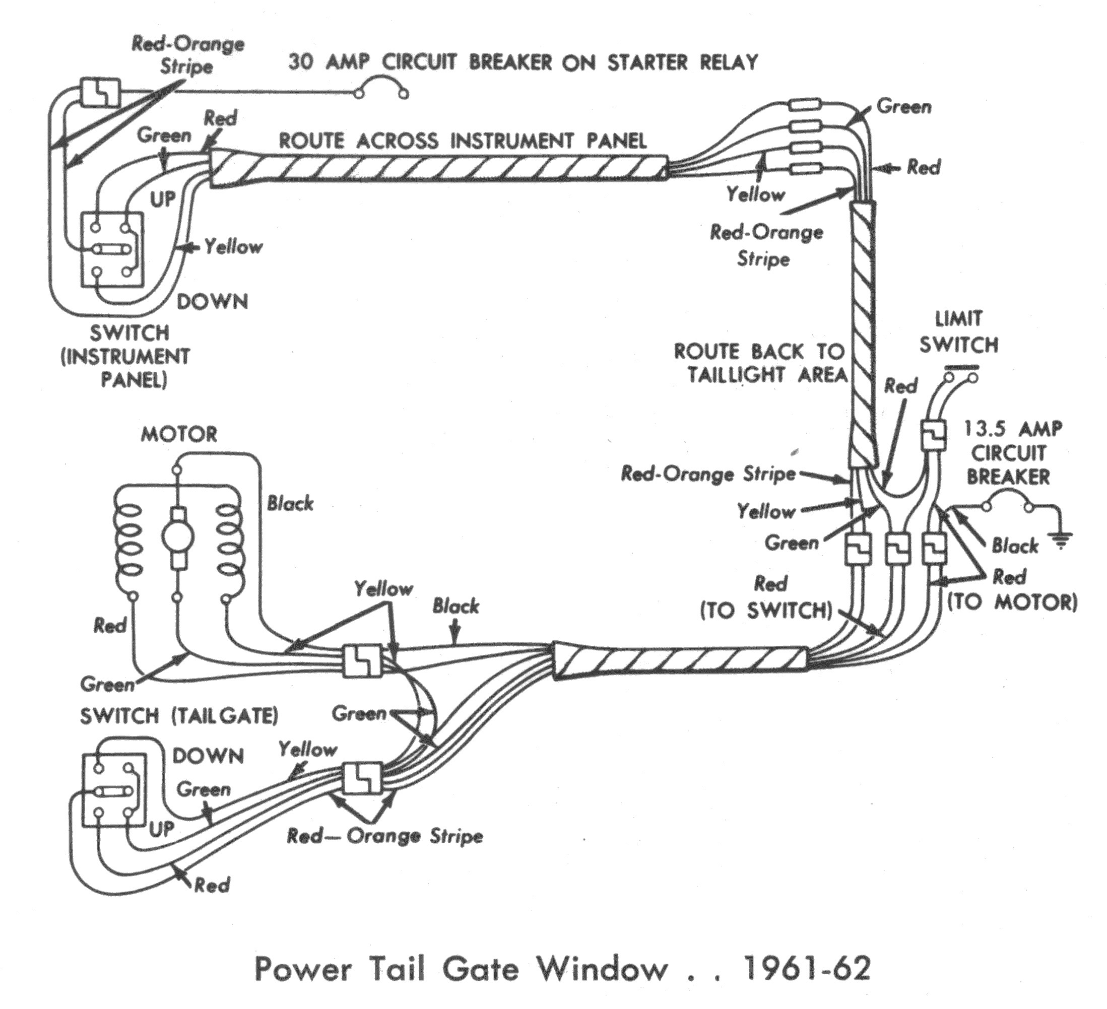 Gm Power Window Switch Wiring Diagram - Wiring Diagram