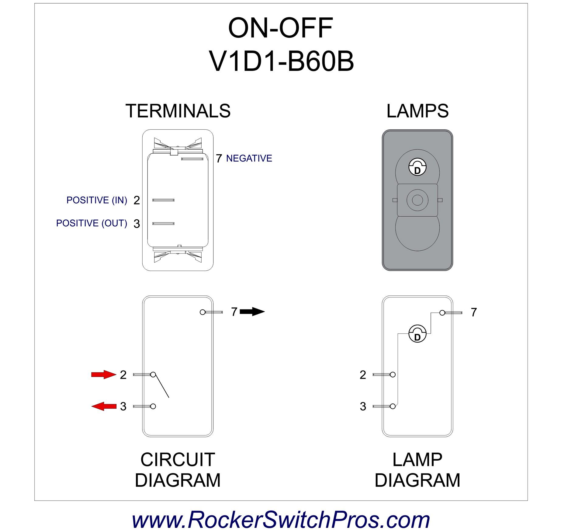 Wiring Diagram for Rocker Switch Rocker Switch On Off Spst 1 Dep Light V1d1 Brilliant Wiring Diagram Of Wiring Diagram for Rocker Switch