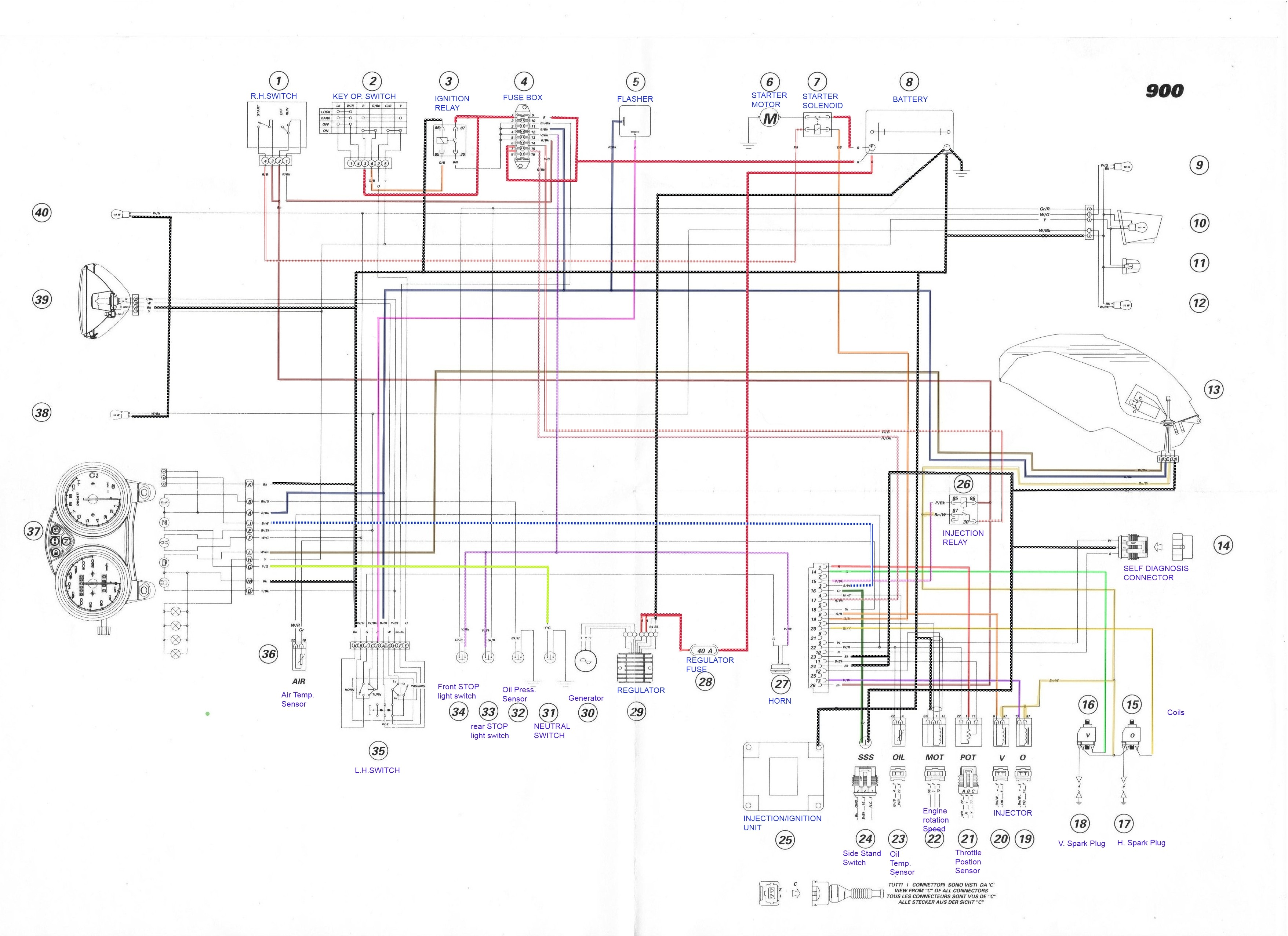 Wiring Diagram for Trailer Wire Trailer Wiring Diagram Moreover Ducati Supersport Wiring