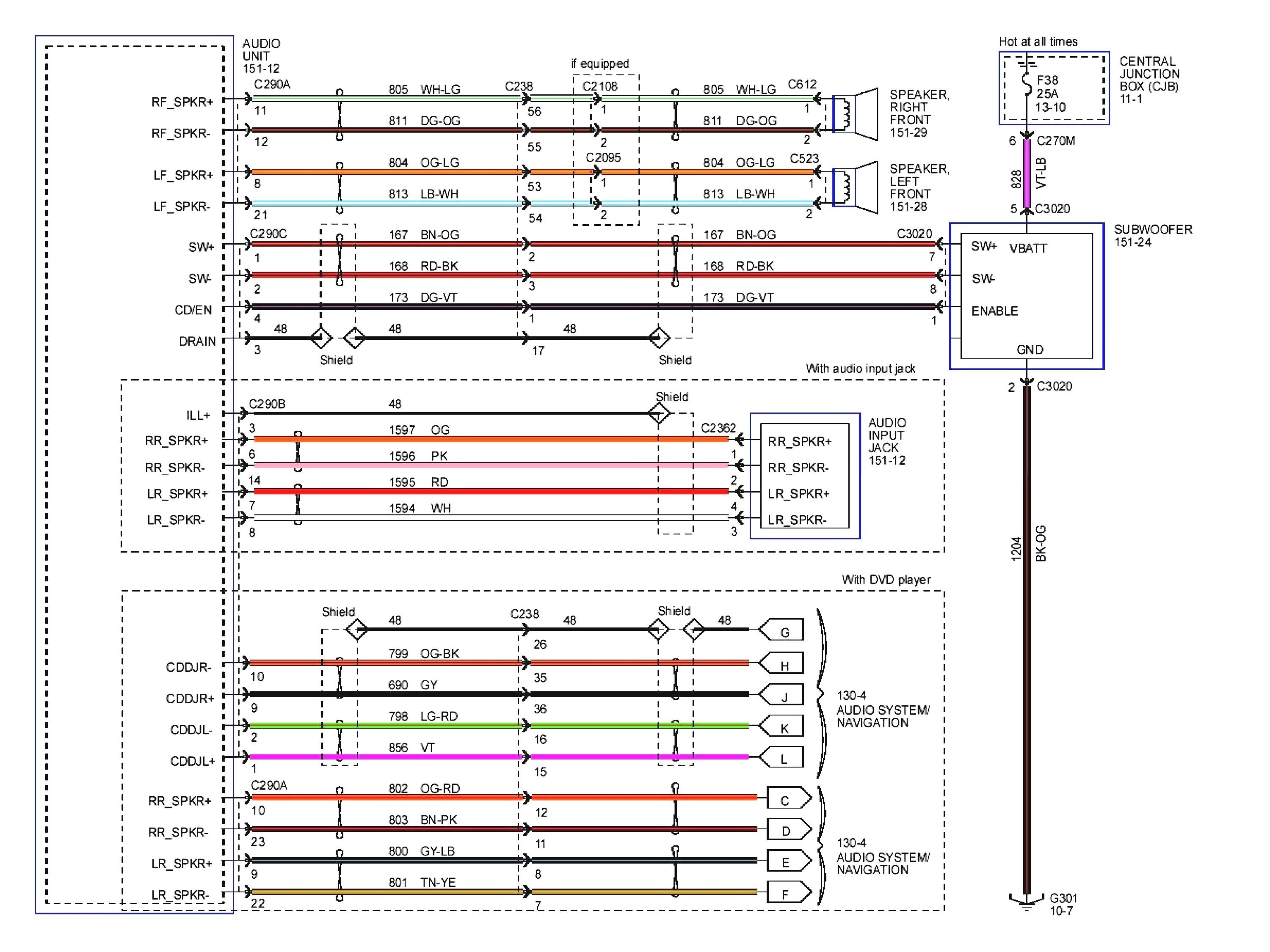 Wiring Diagrams for Pioneer Car Stereos Head Unit Wiring Harness Diagram Fresh Magnificent Pioneer for Wire Of Wiring Diagrams for Pioneer Car Stereos