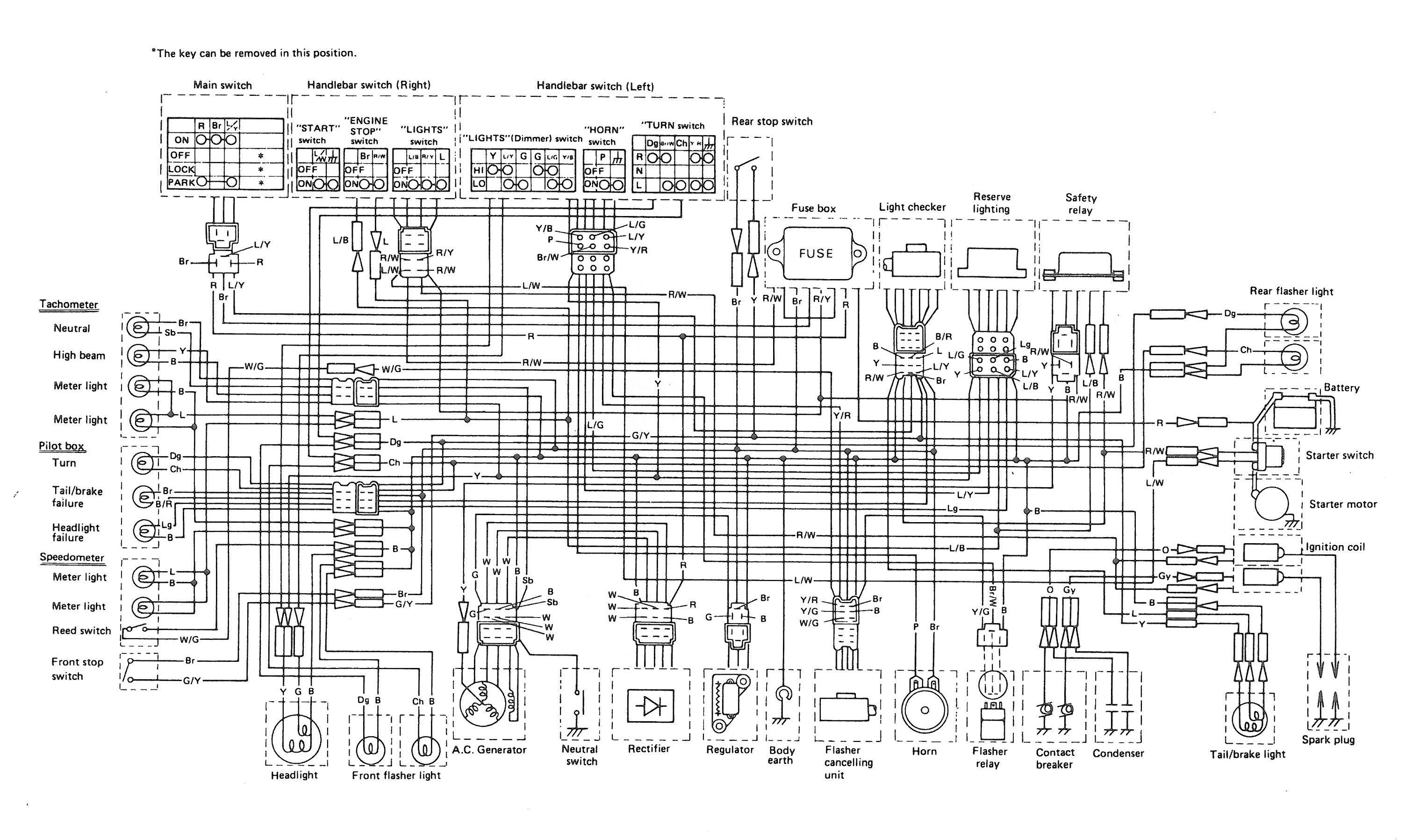 Wiring Diagram Yamaha At 1 Basic Guide Wiring Diagram \u2022 1980 Yamaha Dt  100 Wiring Schematics