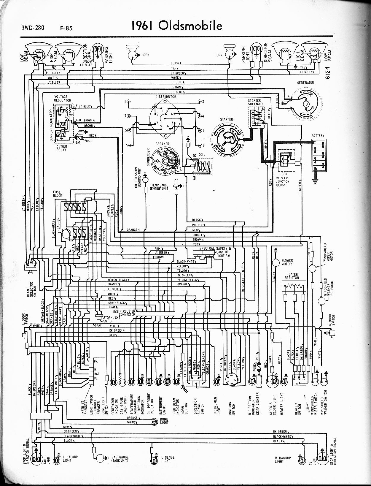 1973 Corvette Wiring Schematic Trusted Diagram 1967 Oldsmobile U2022 Electrical