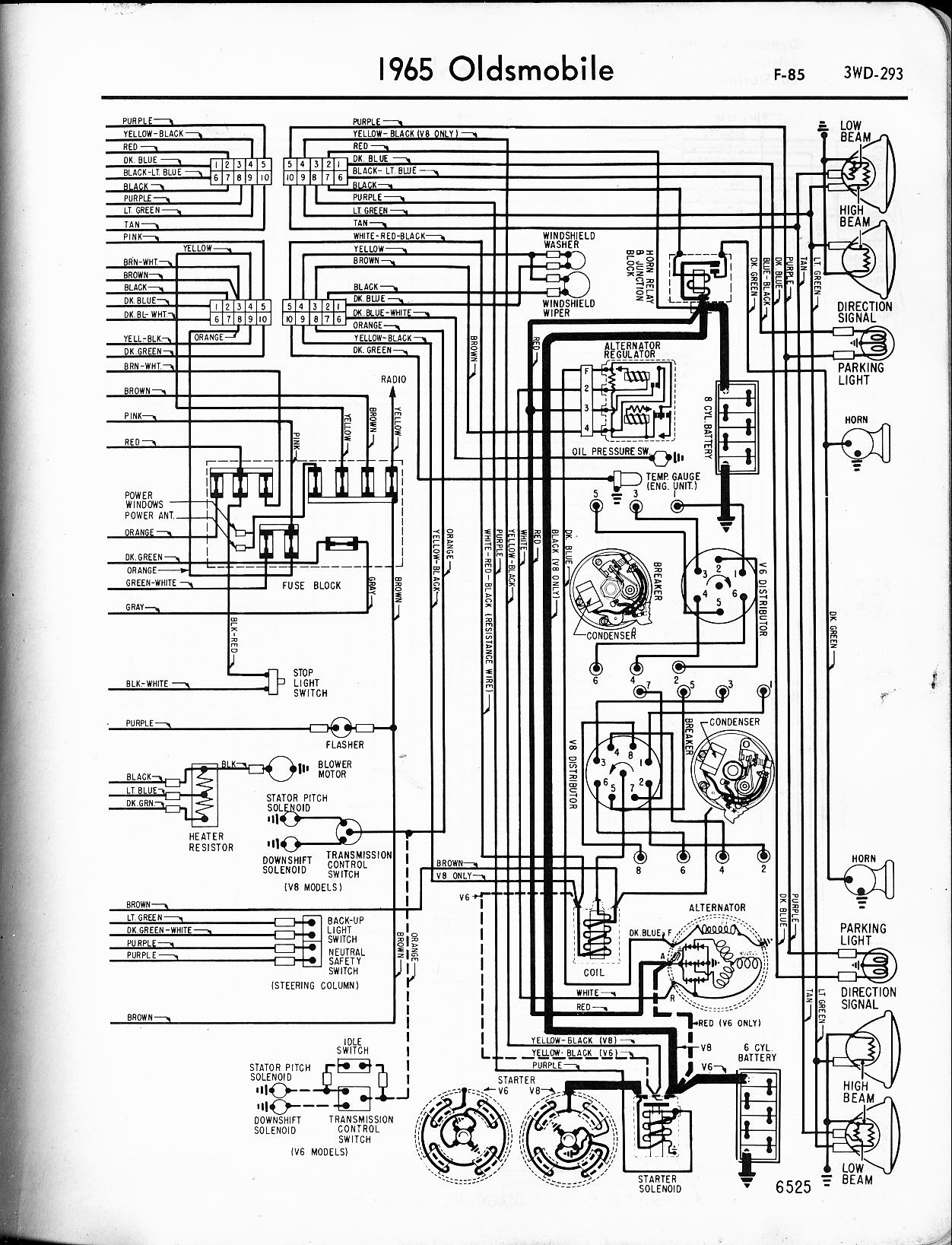 1968 Firebird Wiring Diagram 1969 Olds 442 Wiring Diagram Wiring Diagram Of 1968  Firebird Wiring Diagram