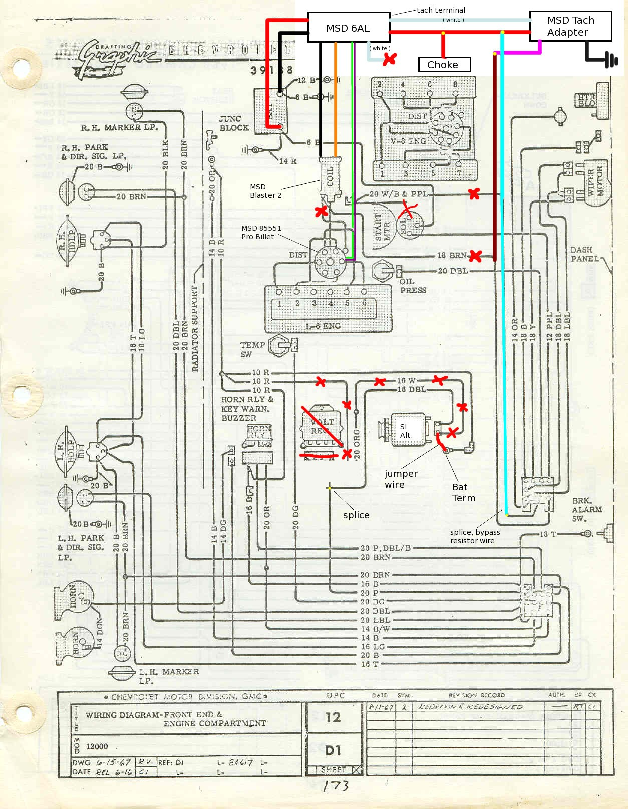 67 Firebird Ignition Wiring Diagram | Wiring Liry