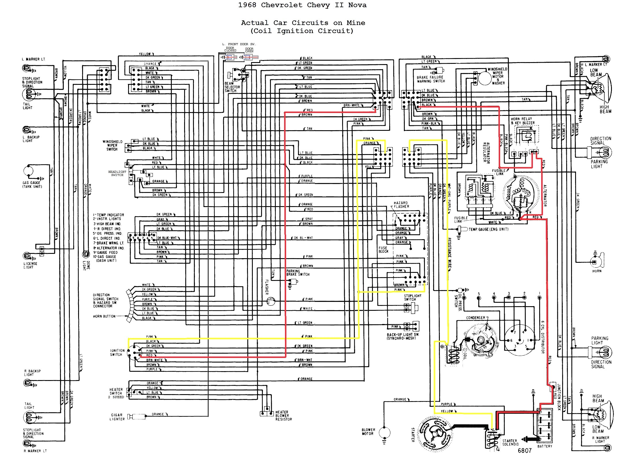 WRG-4948] 68 Gm Steering Column Wiring Diagram