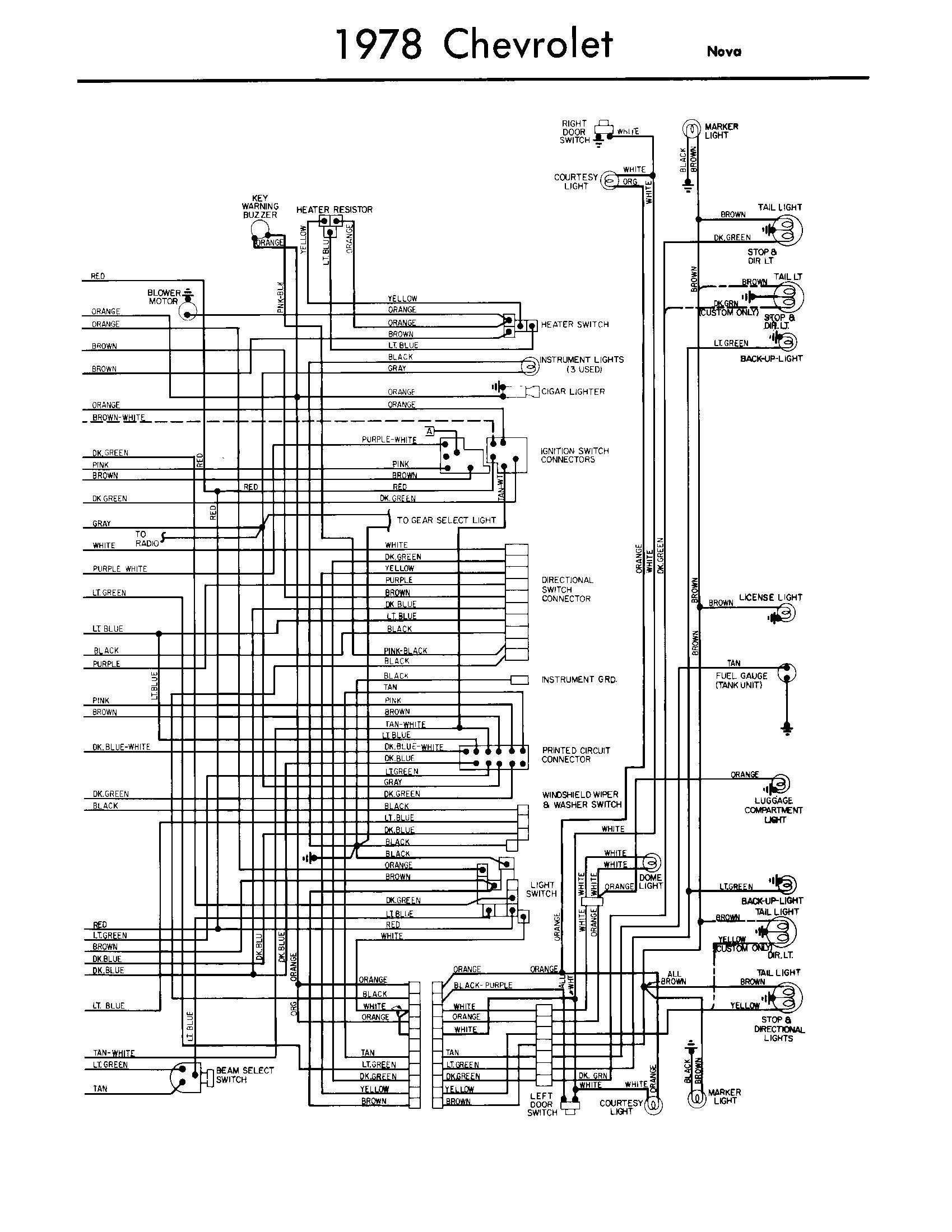 Free Wiring Diagram 75 Corvette Auto Electrical 1969 C10 Fuse Box Download Schematic 77 Trusted Rh Govjobs Co 1977 Radio