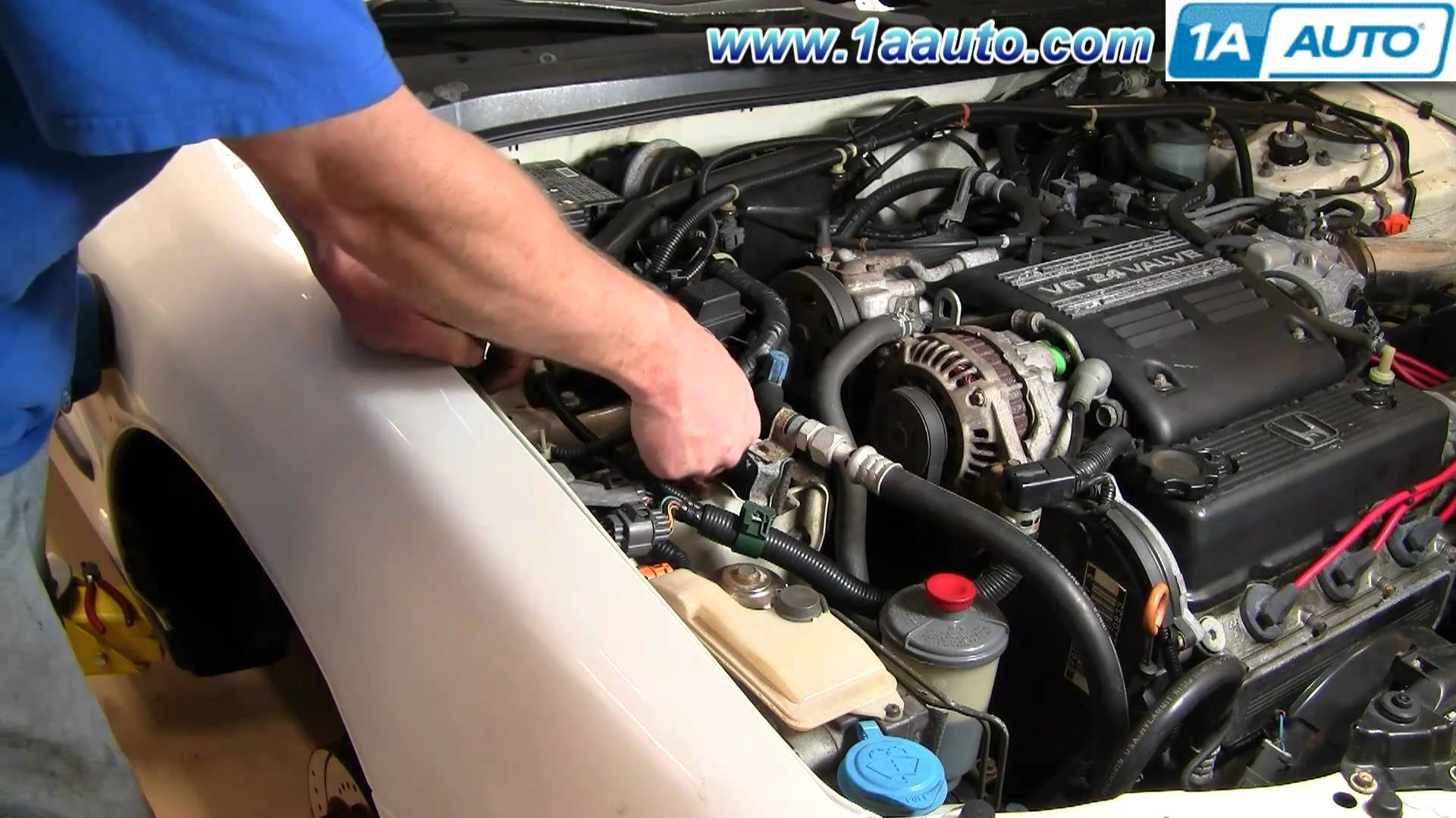 1990 Honda Accord Parts Diagram How To Install Replace Abs Sensor And  Harness Honda Accord Odyssey