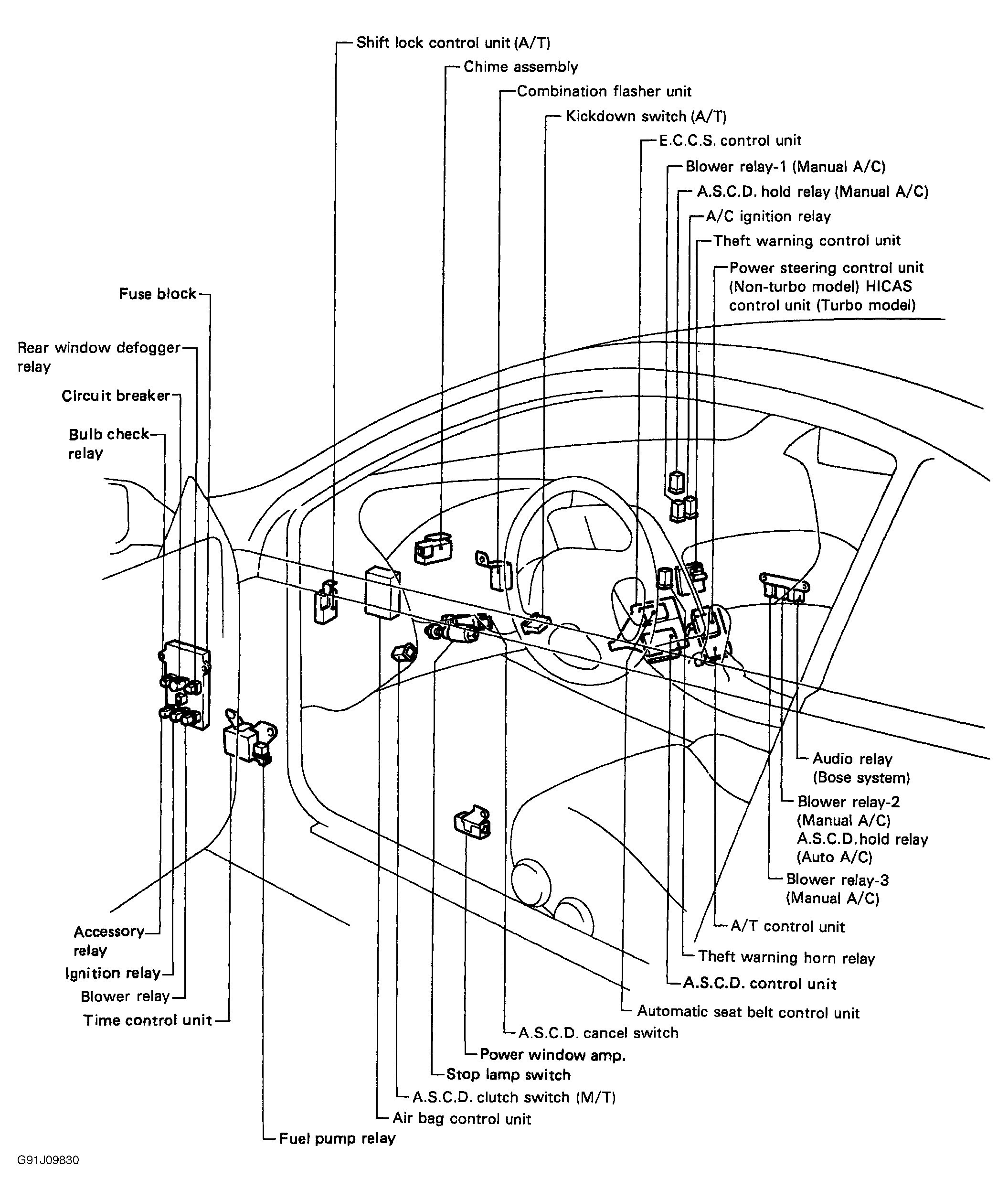 1990 nissan 300zx engine diagram