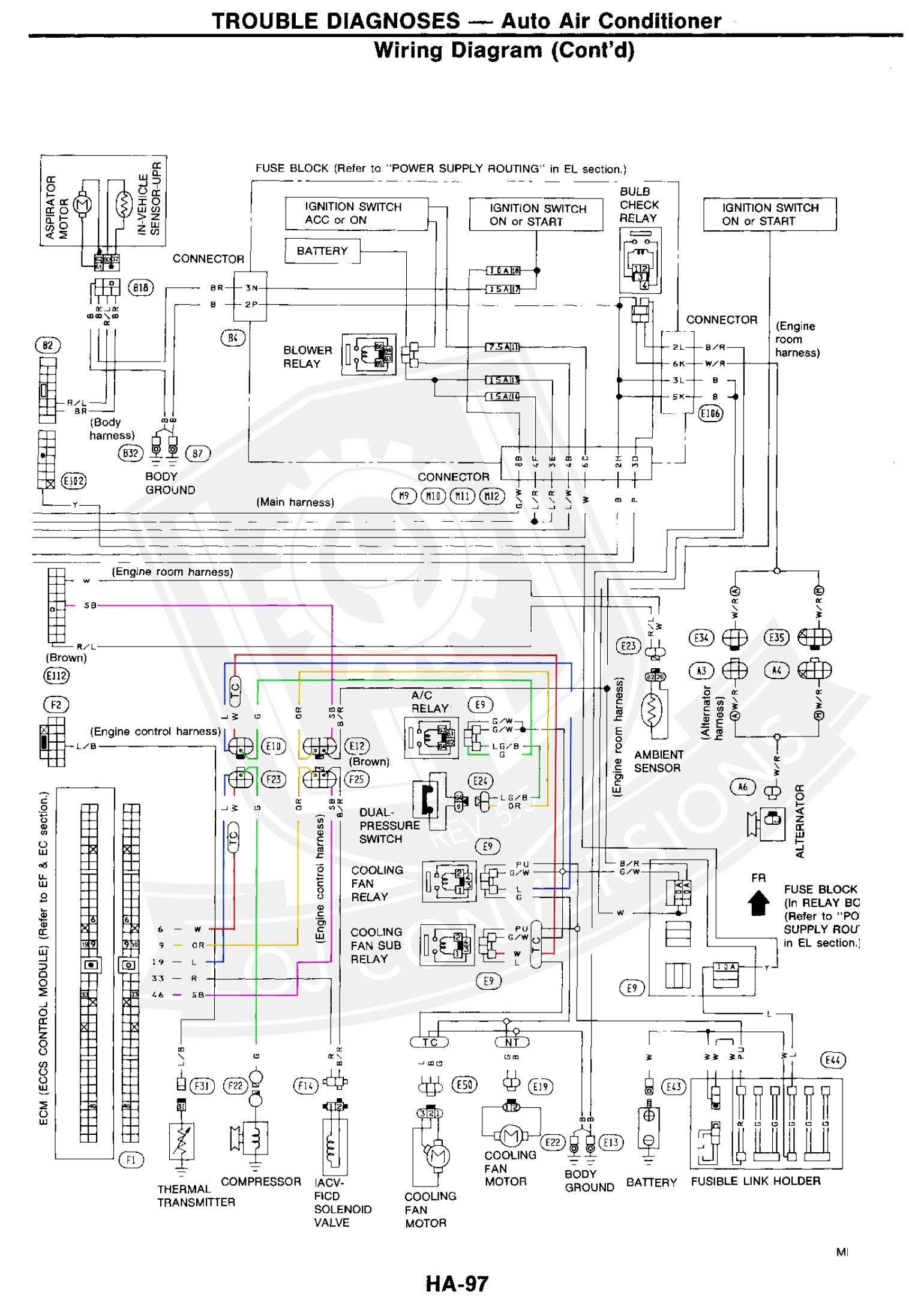 Nissan Zx Engine Diagram Z Alternator Wiring Diagram Fresh Zx Engine Wiring Diagram Of Nissan Zx Engine Diagram
