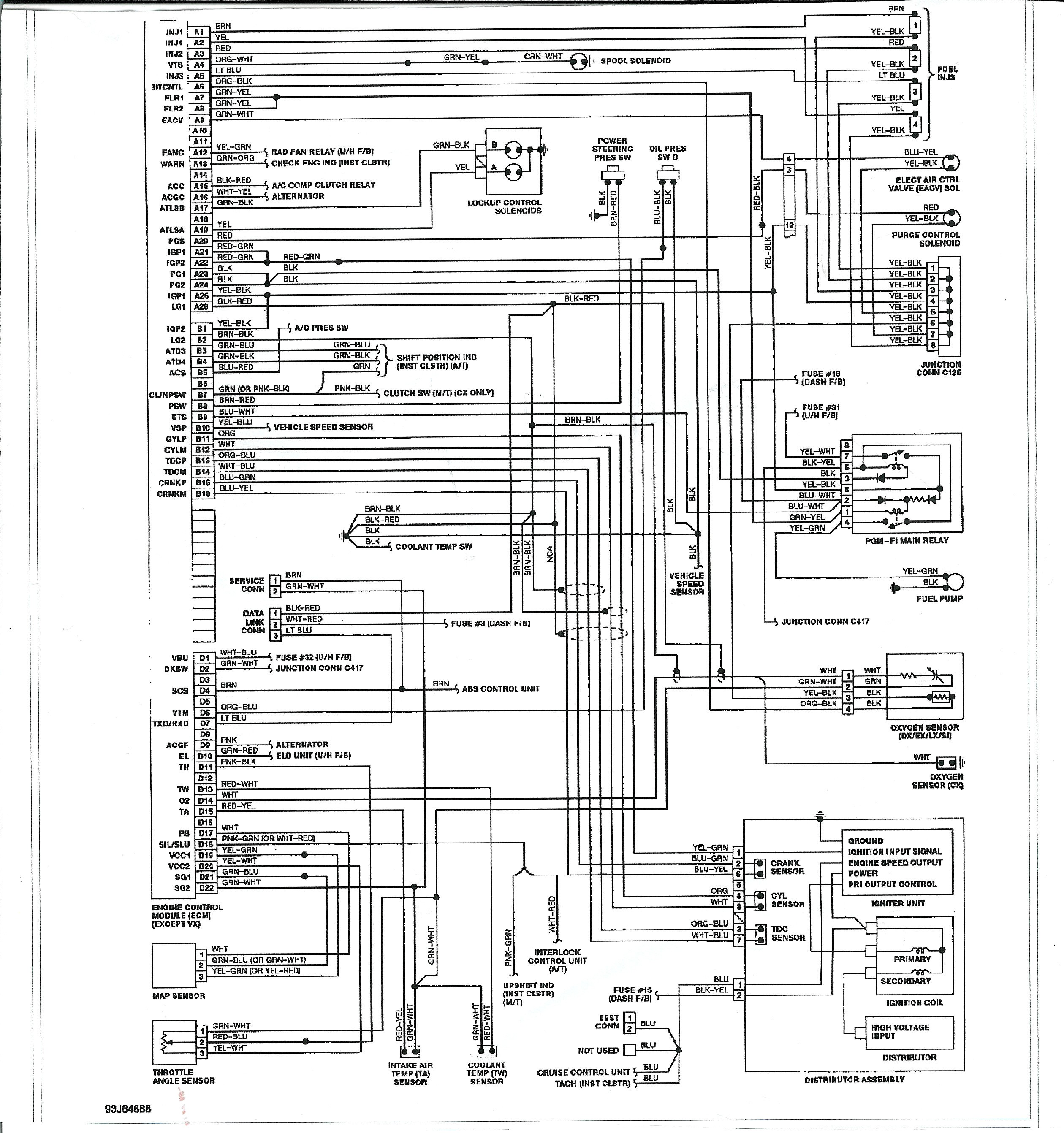 outstanding 1991 honda accord wiring diagram mold electrical