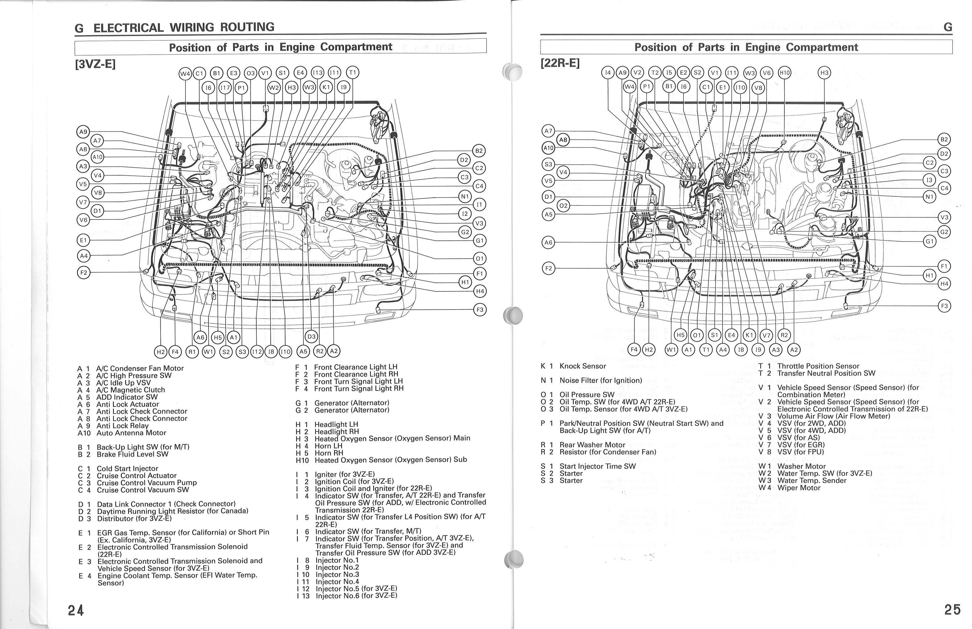 1991 toyota Pickup Tail Light Wiring Diagram 1992 toyota Pickup Engine Diagram Of 1991 toyota Pickup Tail Light Wiring Diagram