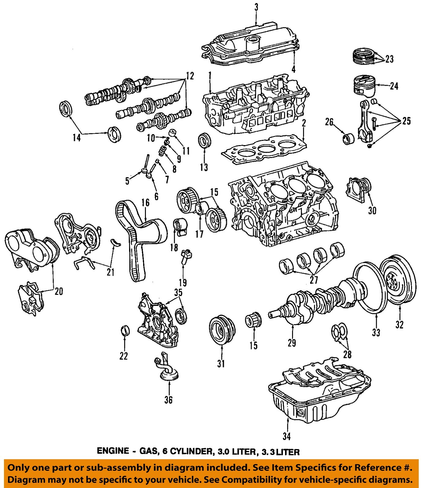 1994 Toyota Camry Engine Diagram 2006 Wiring 1997 Oem Valve Lifter My