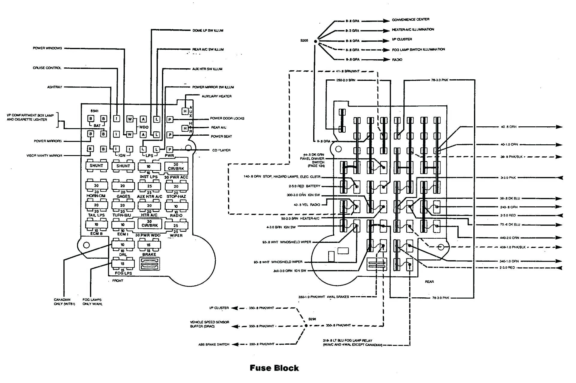 1998 ford Mustang Wiring Diagram 1998 Pontiac Grand Prix Wiring Diagram Wiring Data Of 1998 ford Mustang Wiring Diagram