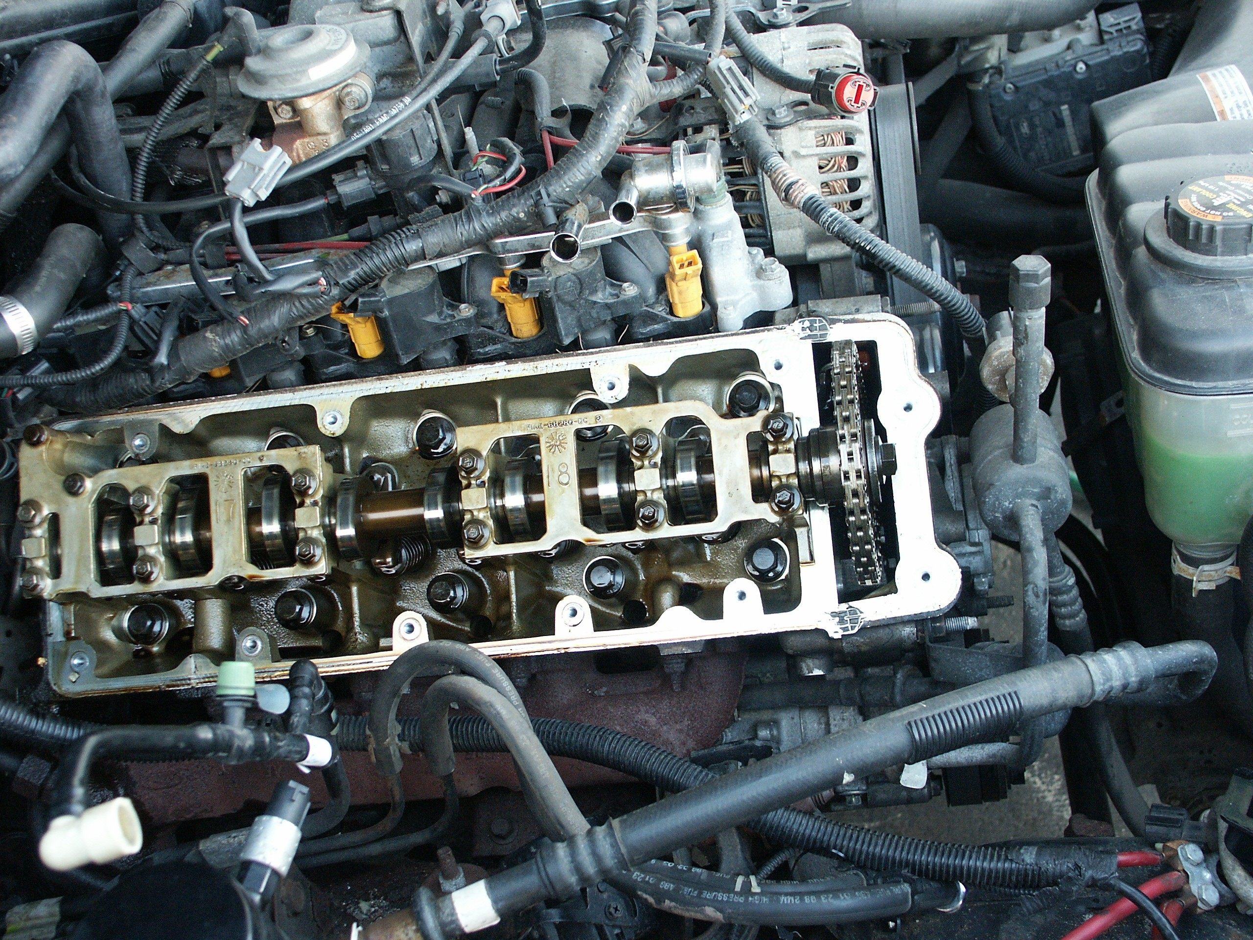 1998 Lincoln town Car Engine Diagram ford Crown Victoria Passenger Side Valve Cover Replacement Of 1998 Lincoln town Car Engine Diagram