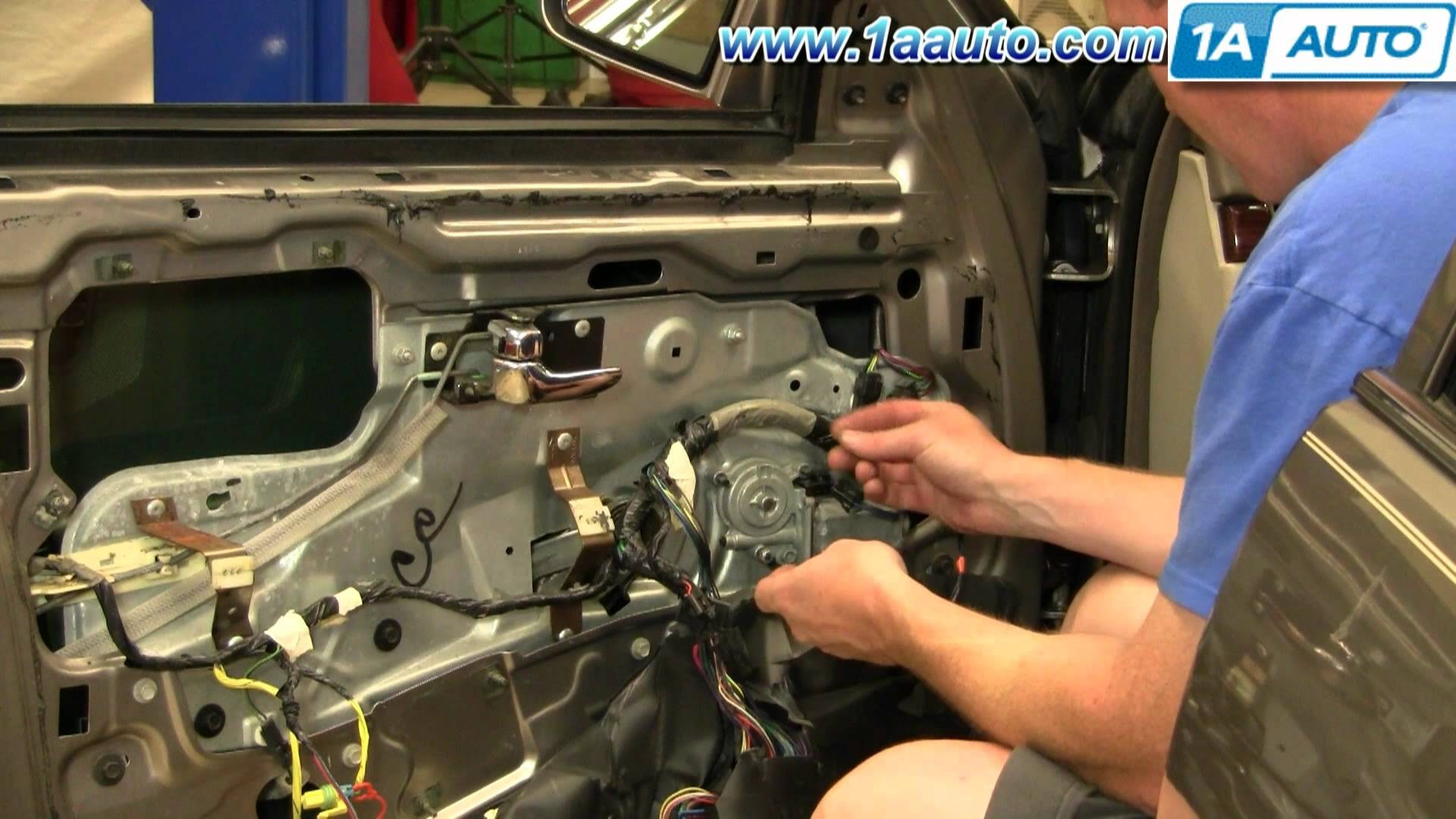 1994 Cadillac Deville Engine Diagram Wiring Library 1999 How To Install Replace Power Window Motor Front 94