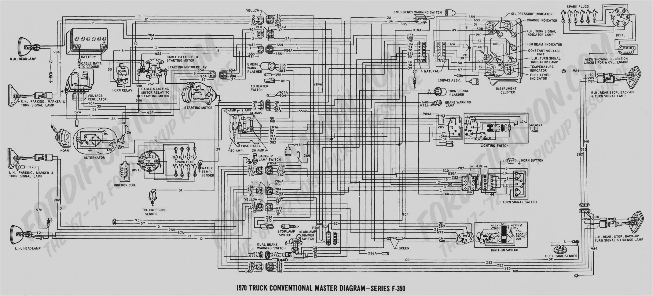 1999 Ford Mustang Engine Diagram 2008 Bmw 328i Collection 1972 Wiring Diagrams Of