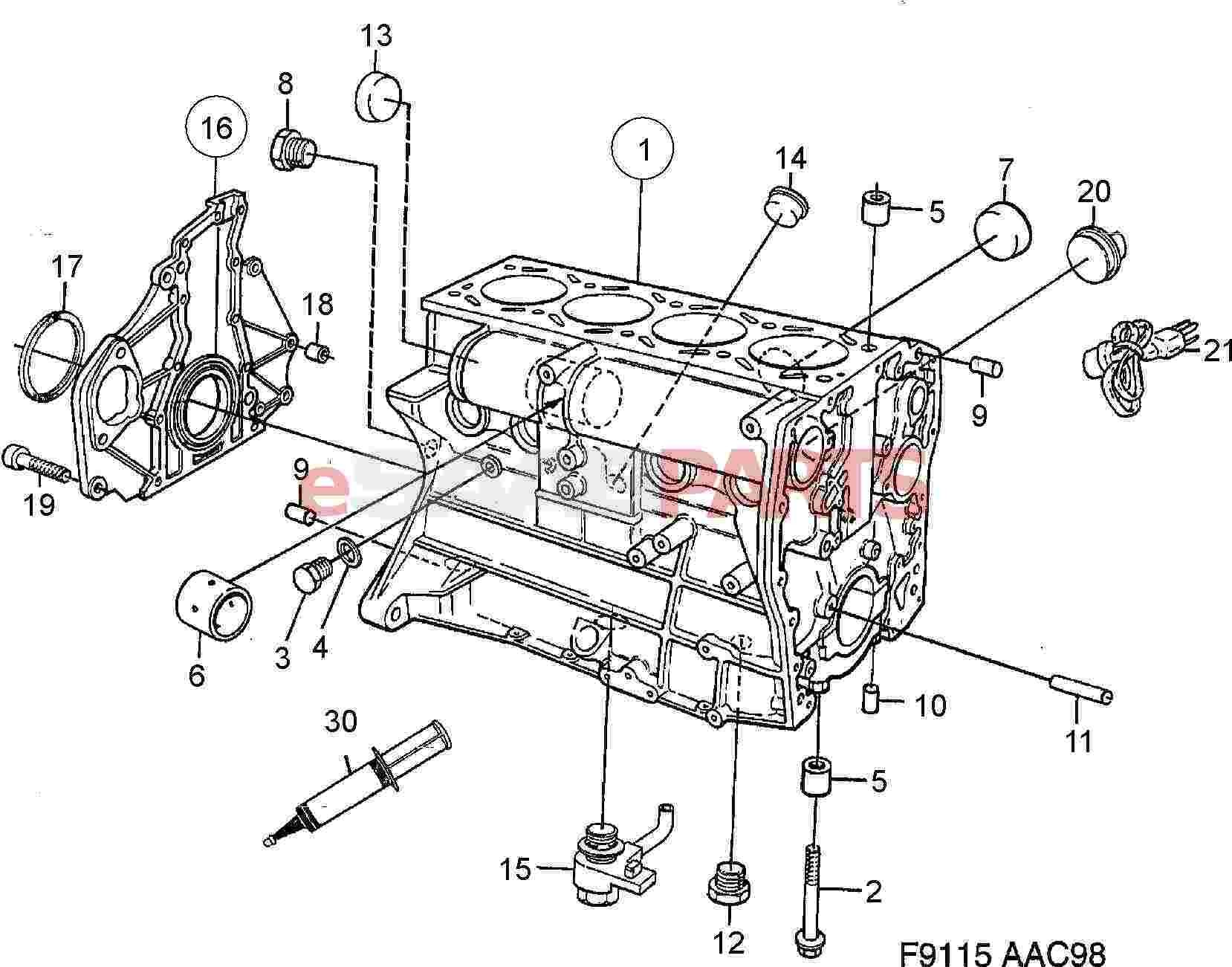 1999 Mitsubishi Eclipse Engine Diagram Wiring Library Kawasaki Mule Ignition Saab 9 3
