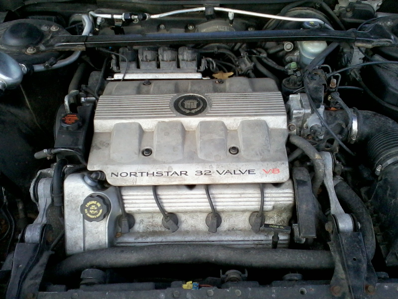 2000 Cadillac Deville Engine Diagram 2000 Cadillac Eldorado Esc Coupe 4 6l  V8 Auto Of 2000